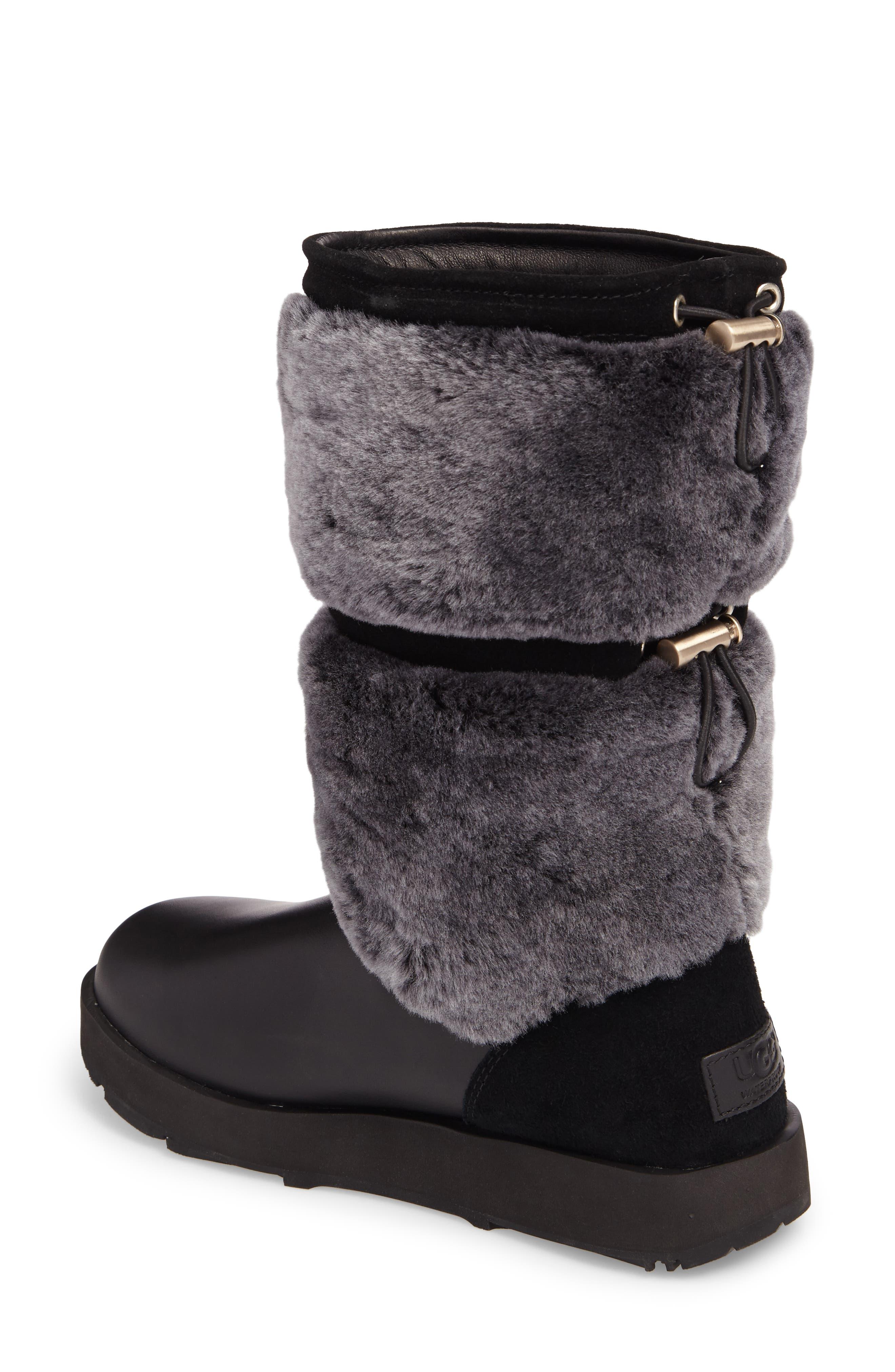 Reykir Waterproof Snow Boot,                             Alternate thumbnail 4, color,