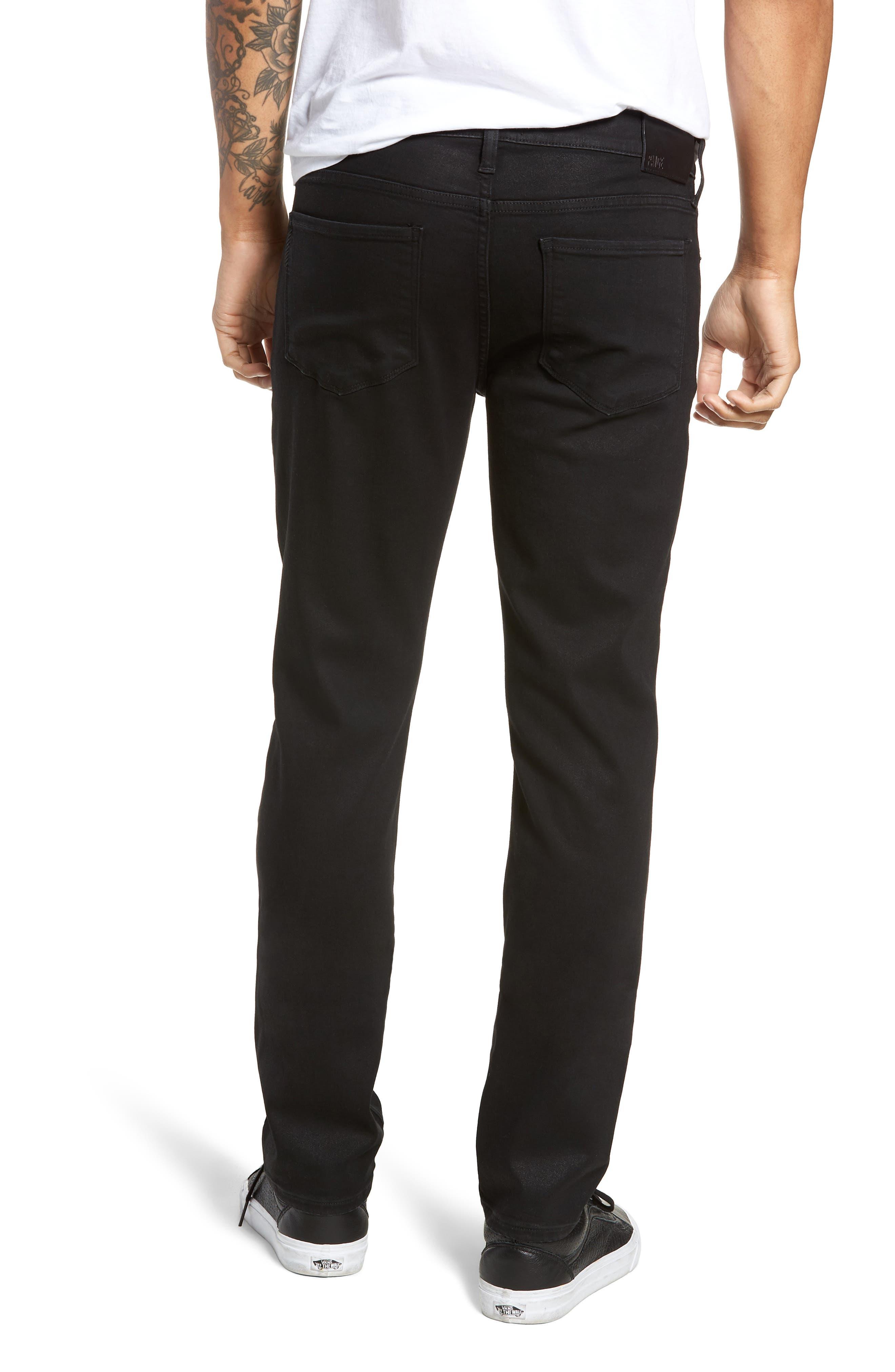 Transcend - Croft Skinny Fit Jeans,                             Alternate thumbnail 2, color,                             400
