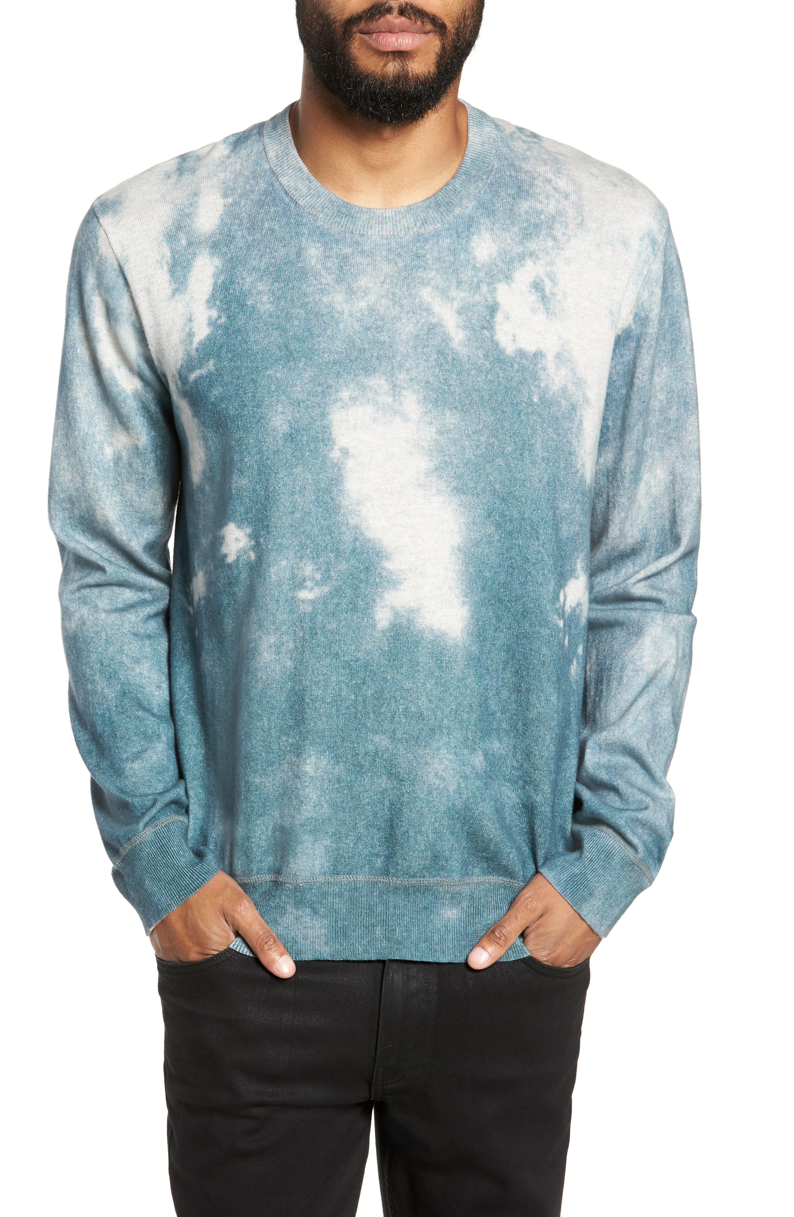 ATM ANTHONY THOMAS MELILLO Abstract Print Sweater, Main, color, 450