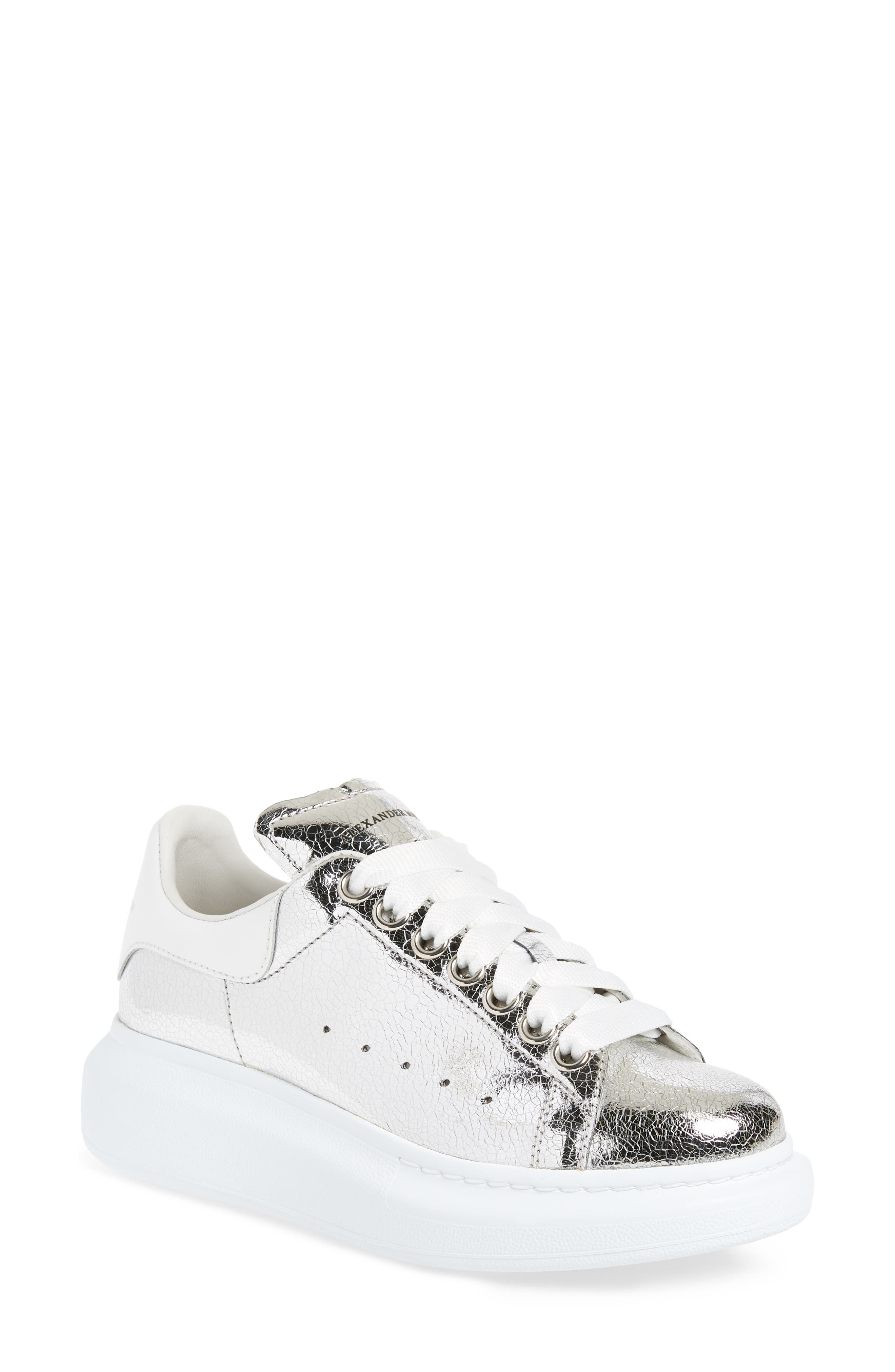 Sneaker,                             Main thumbnail 1, color,                             SILVER