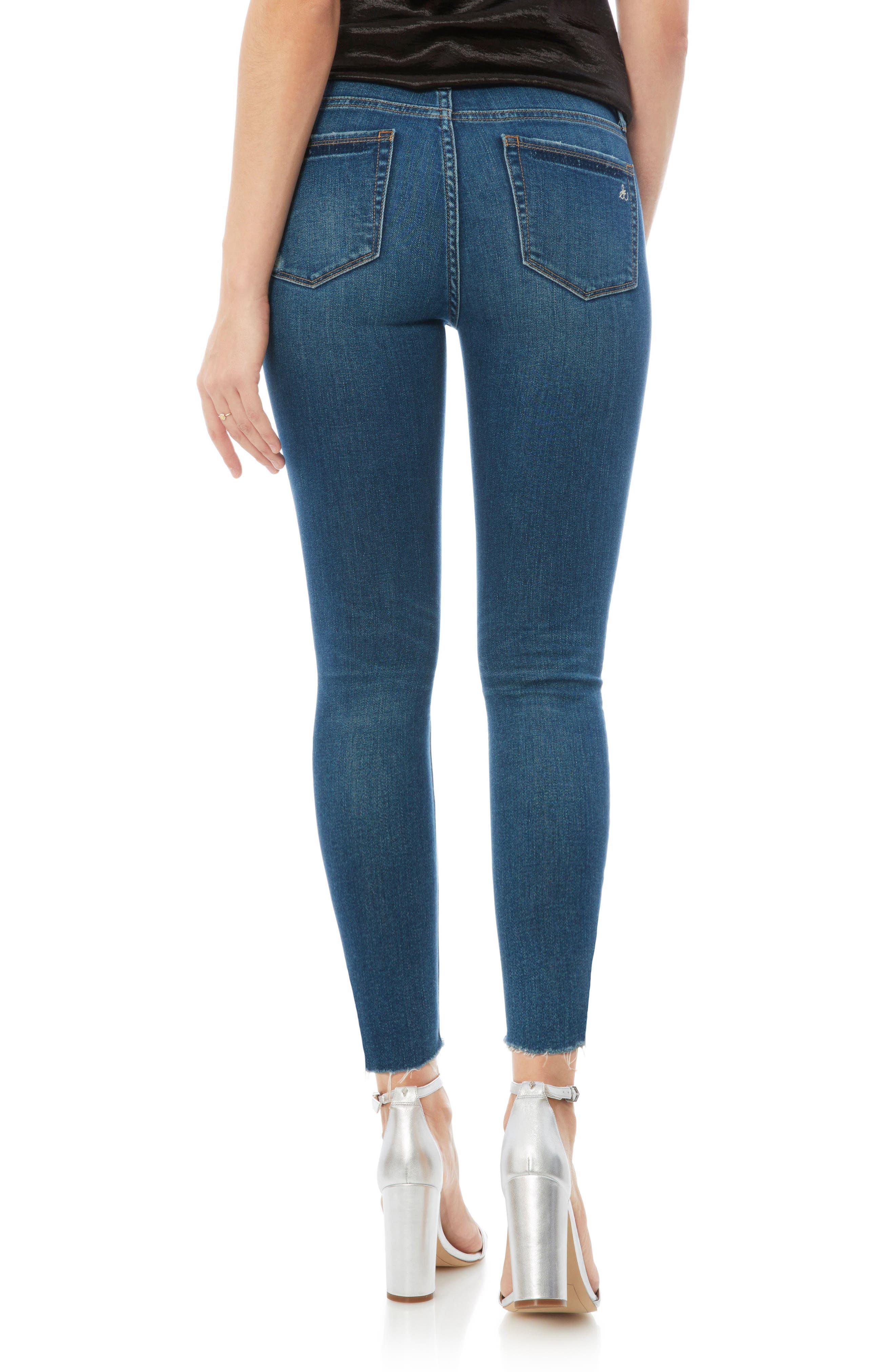 The Stiletto High Rise Skinny Jeans,                             Alternate thumbnail 2, color,                             LANELLE
