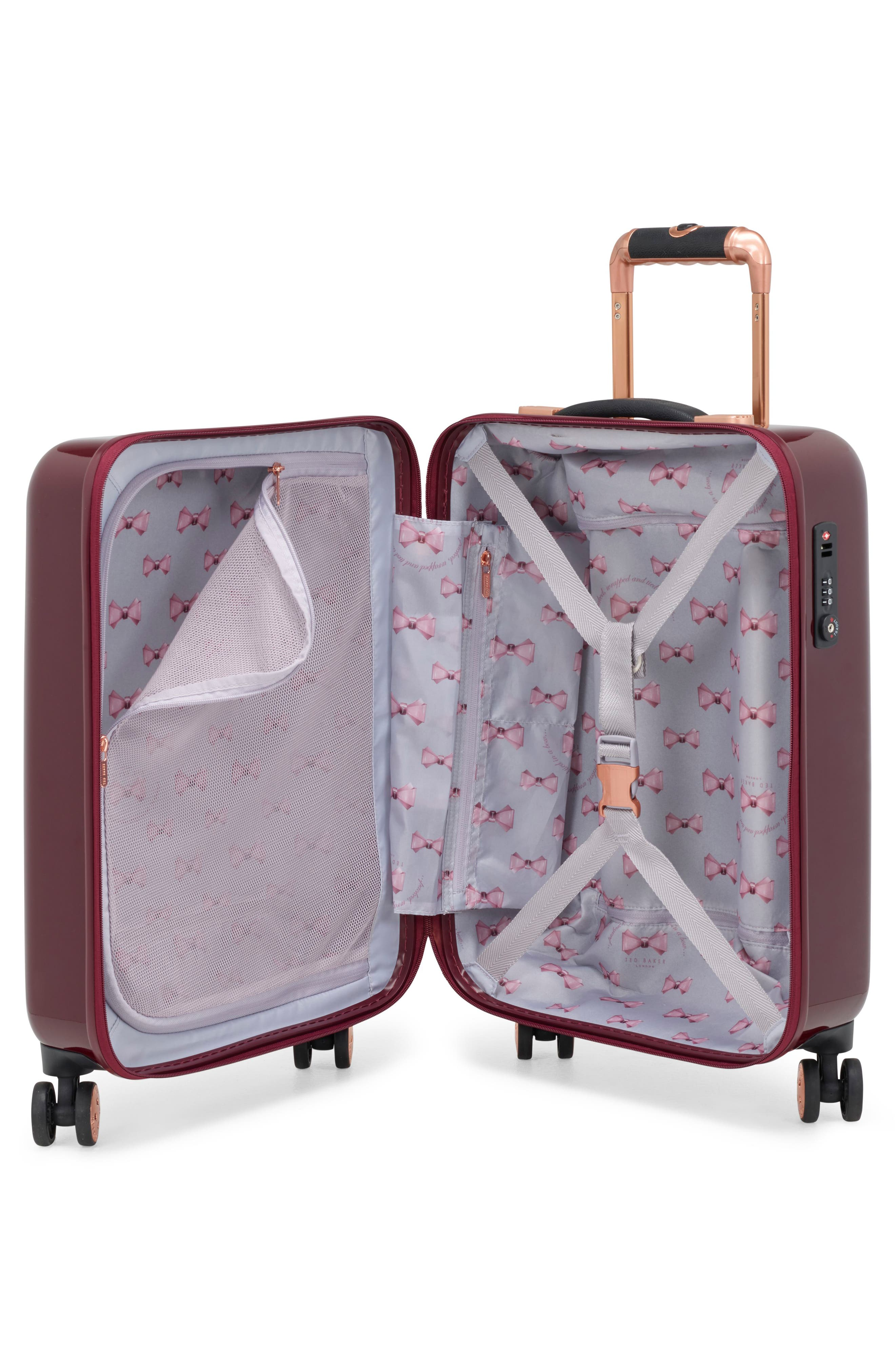 Small Porcelain Rose 21-Inch Spinner Carry-On,                             Alternate thumbnail 2, color,                             930