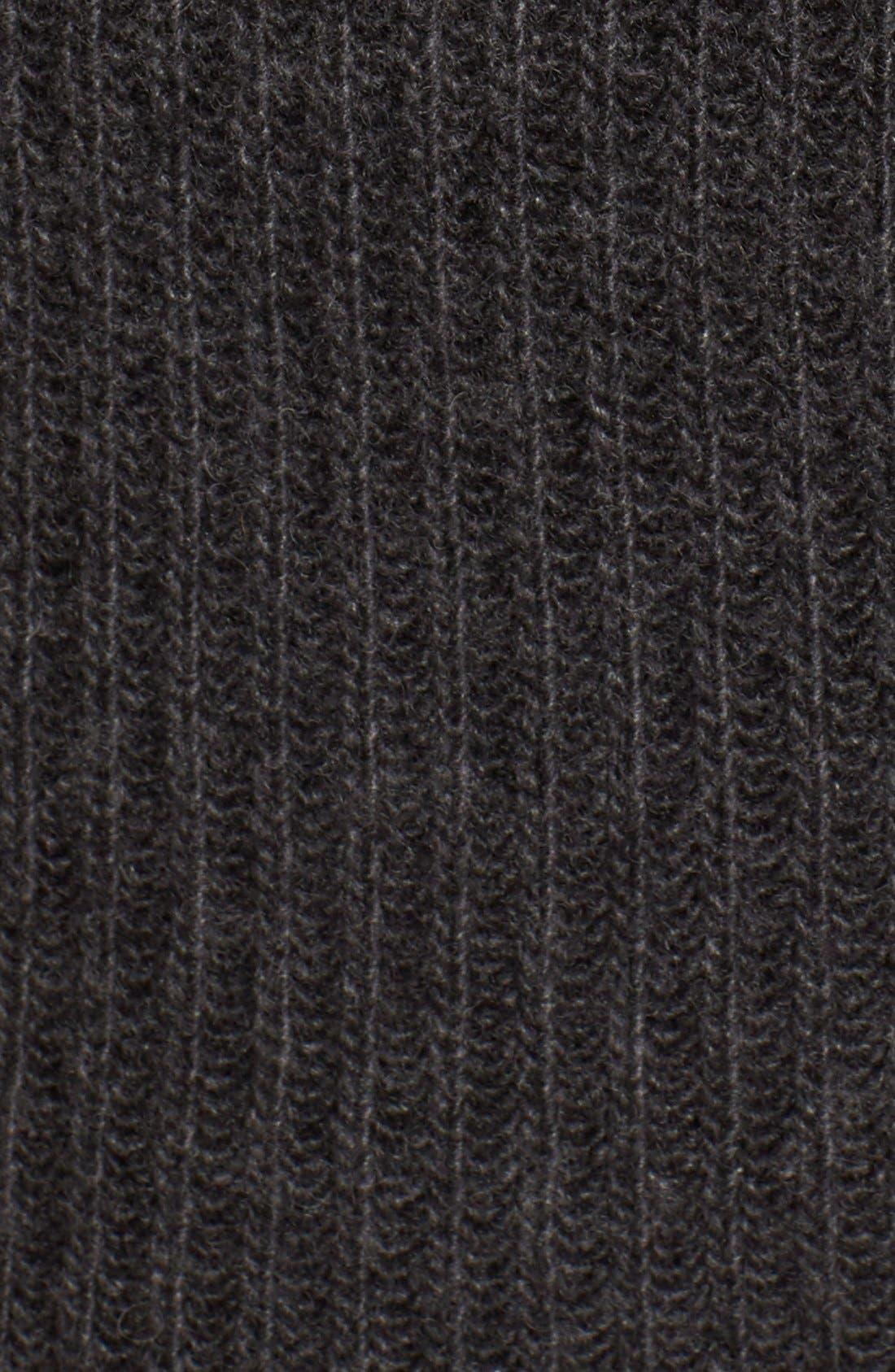 Ribbed Cashmere Turtleneck Sweater,                             Alternate thumbnail 2, color,                             021