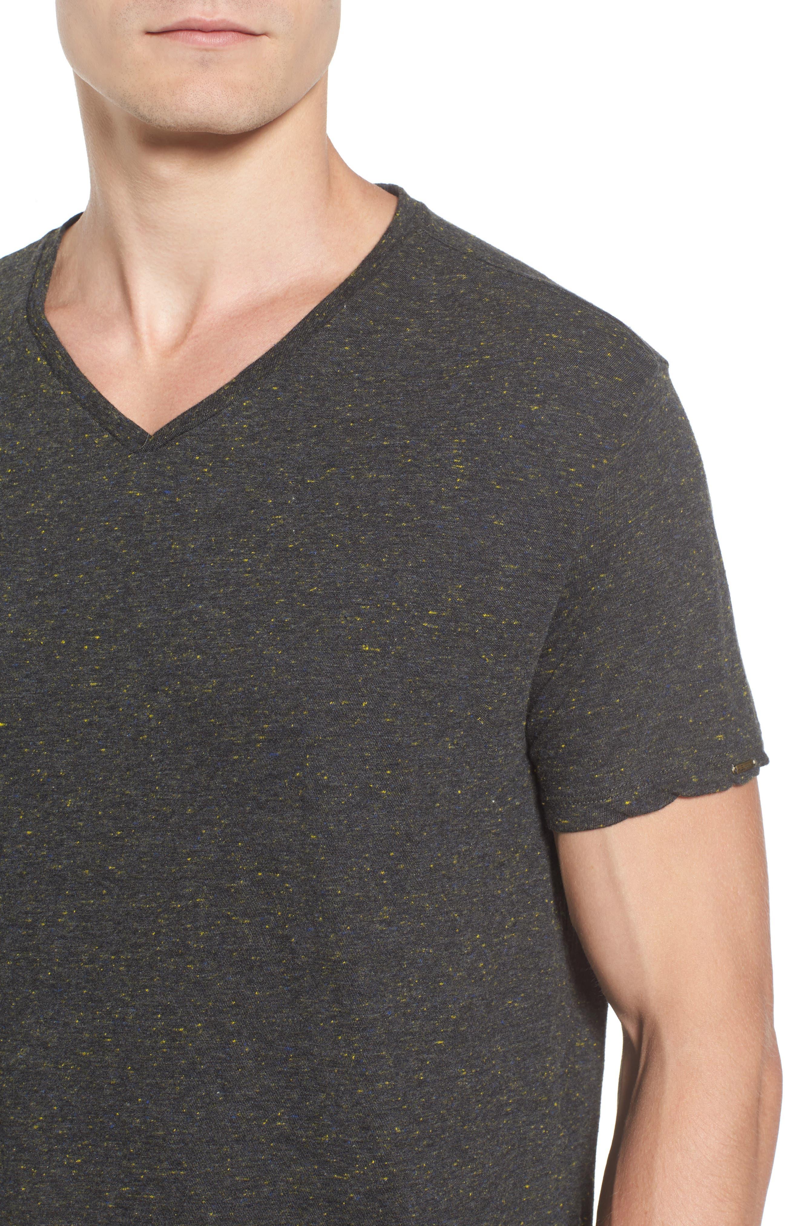 Mélange Jersey T-Shirt,                             Alternate thumbnail 4, color,                             030