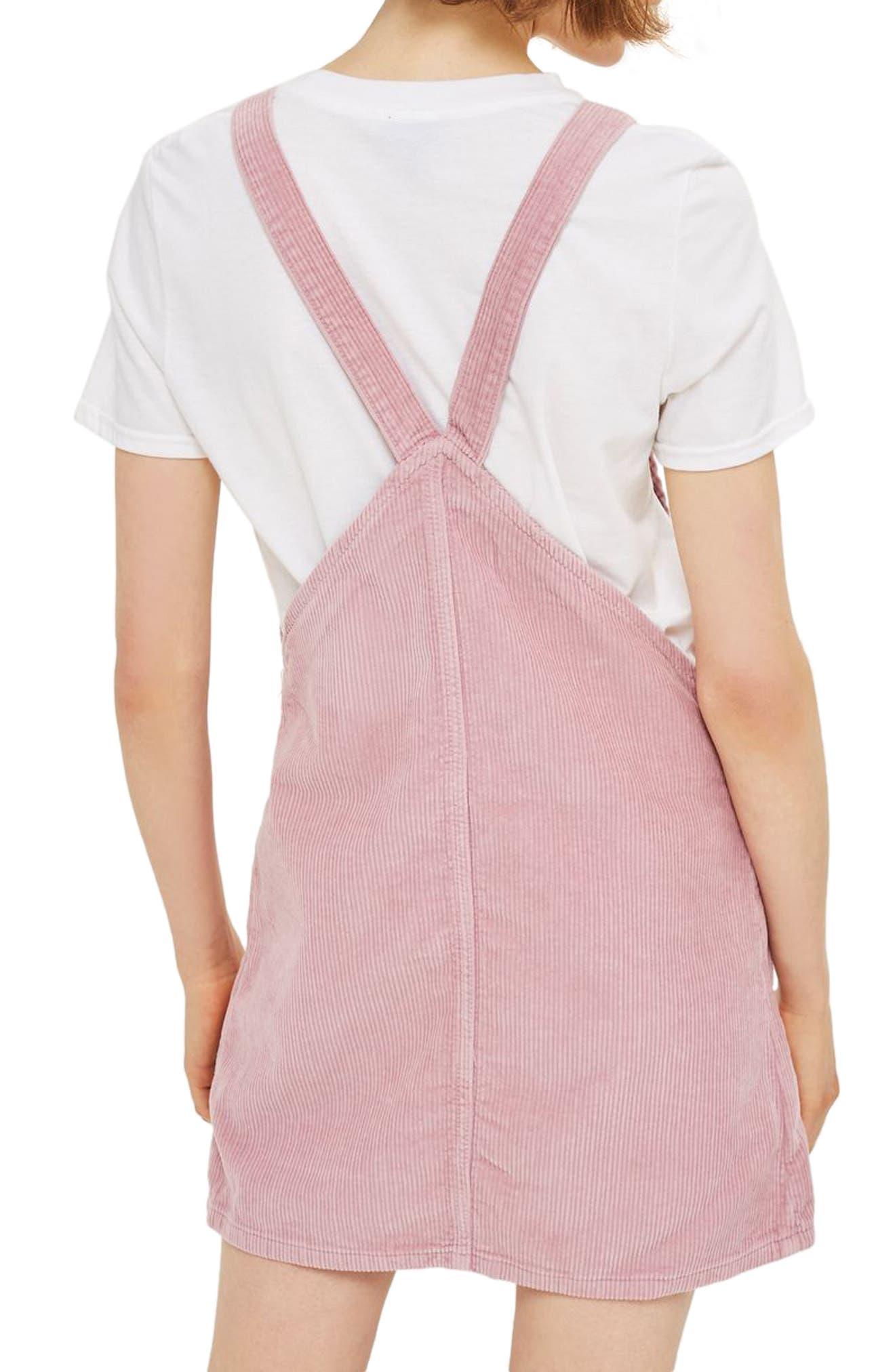 Corduroy Pinafore Dress,                             Alternate thumbnail 5, color,