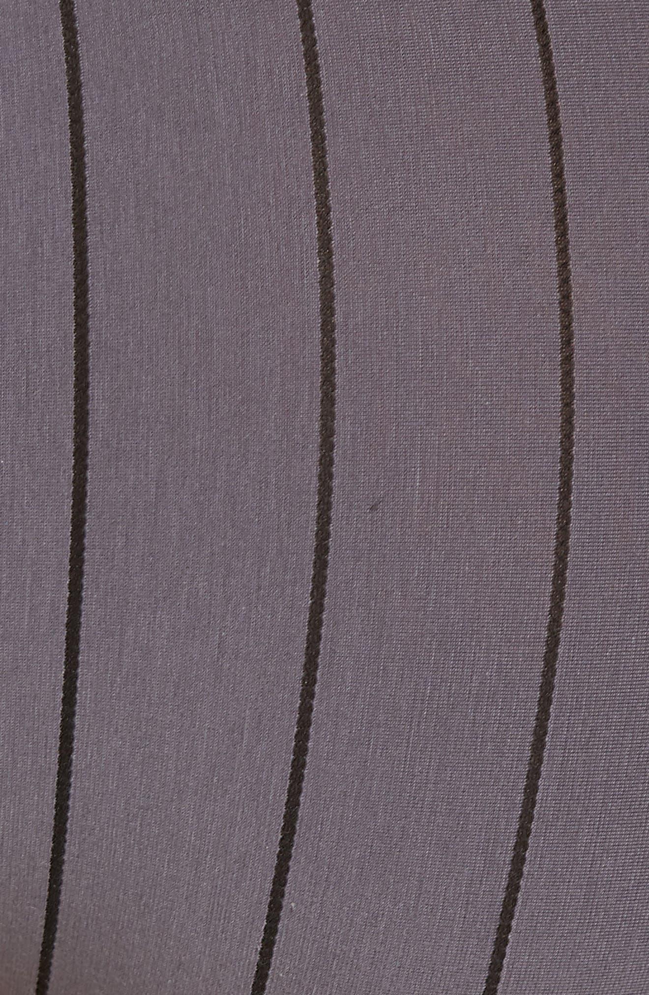 Shadow Cotton Blend Briefs,                             Alternate thumbnail 5, color,                             EBONY