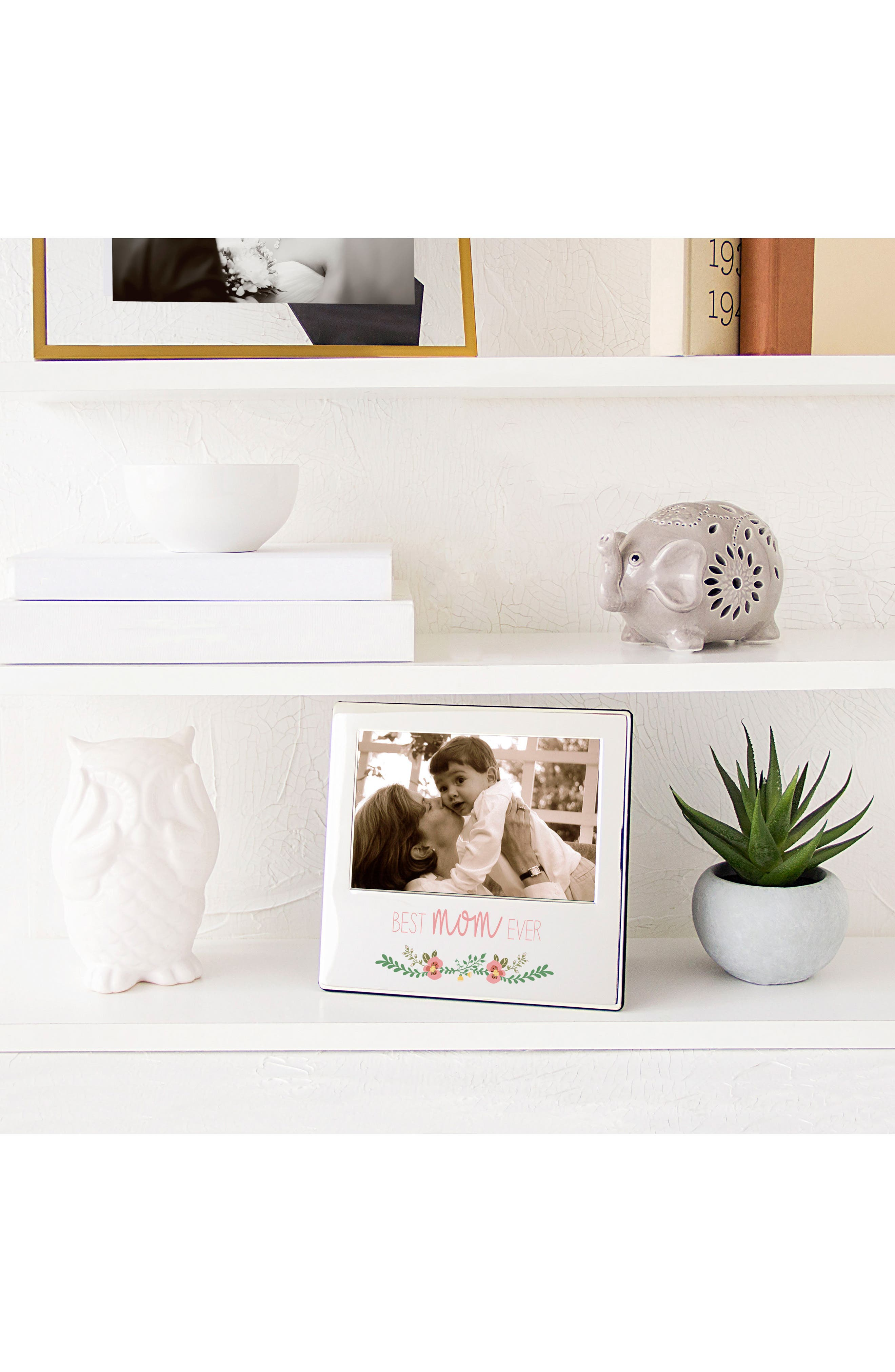 Mother's Day Silver Picture Frame,                             Alternate thumbnail 4, color,