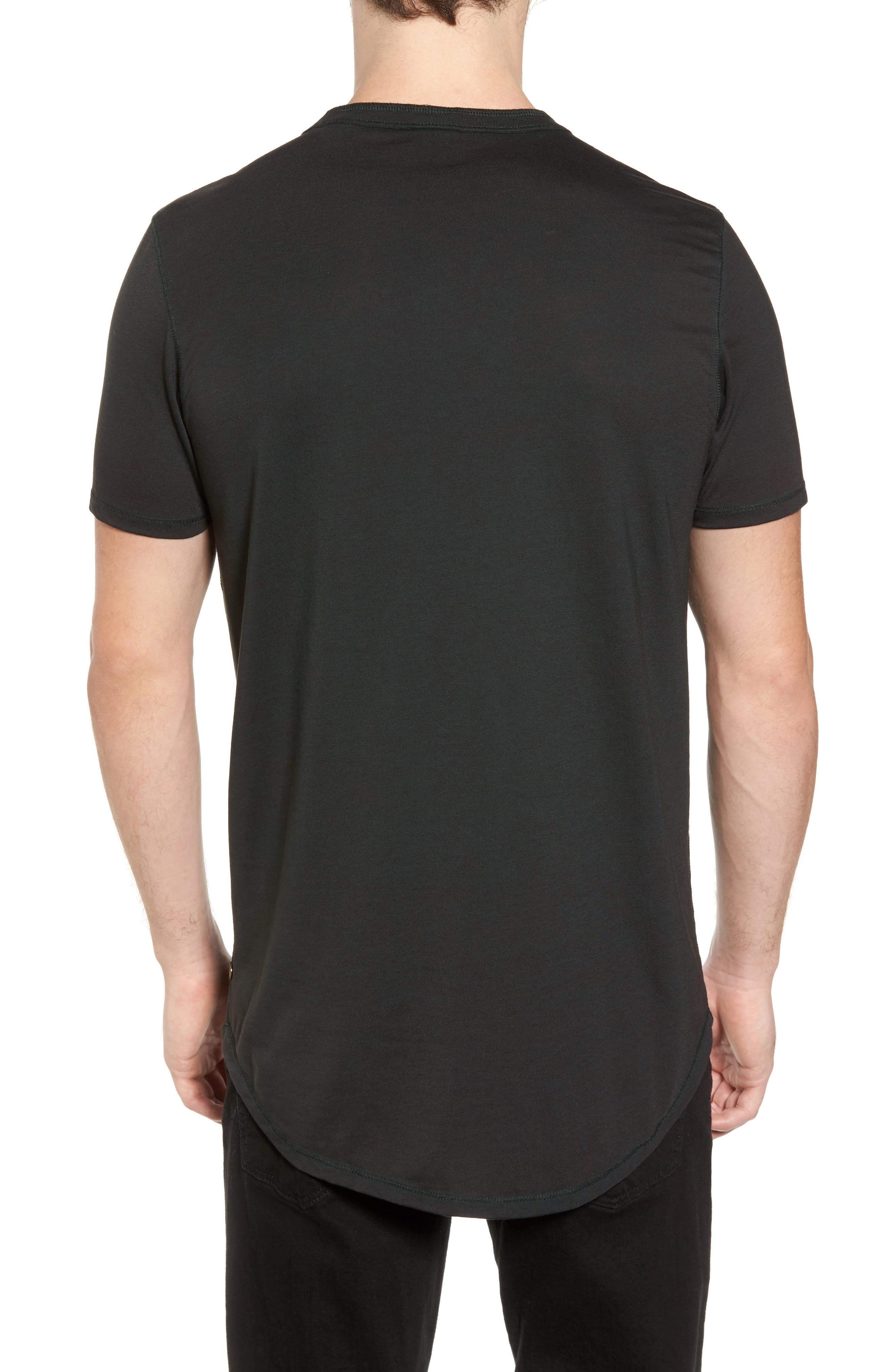 Crewneck Pocket T-Shirt,                             Alternate thumbnail 2, color,