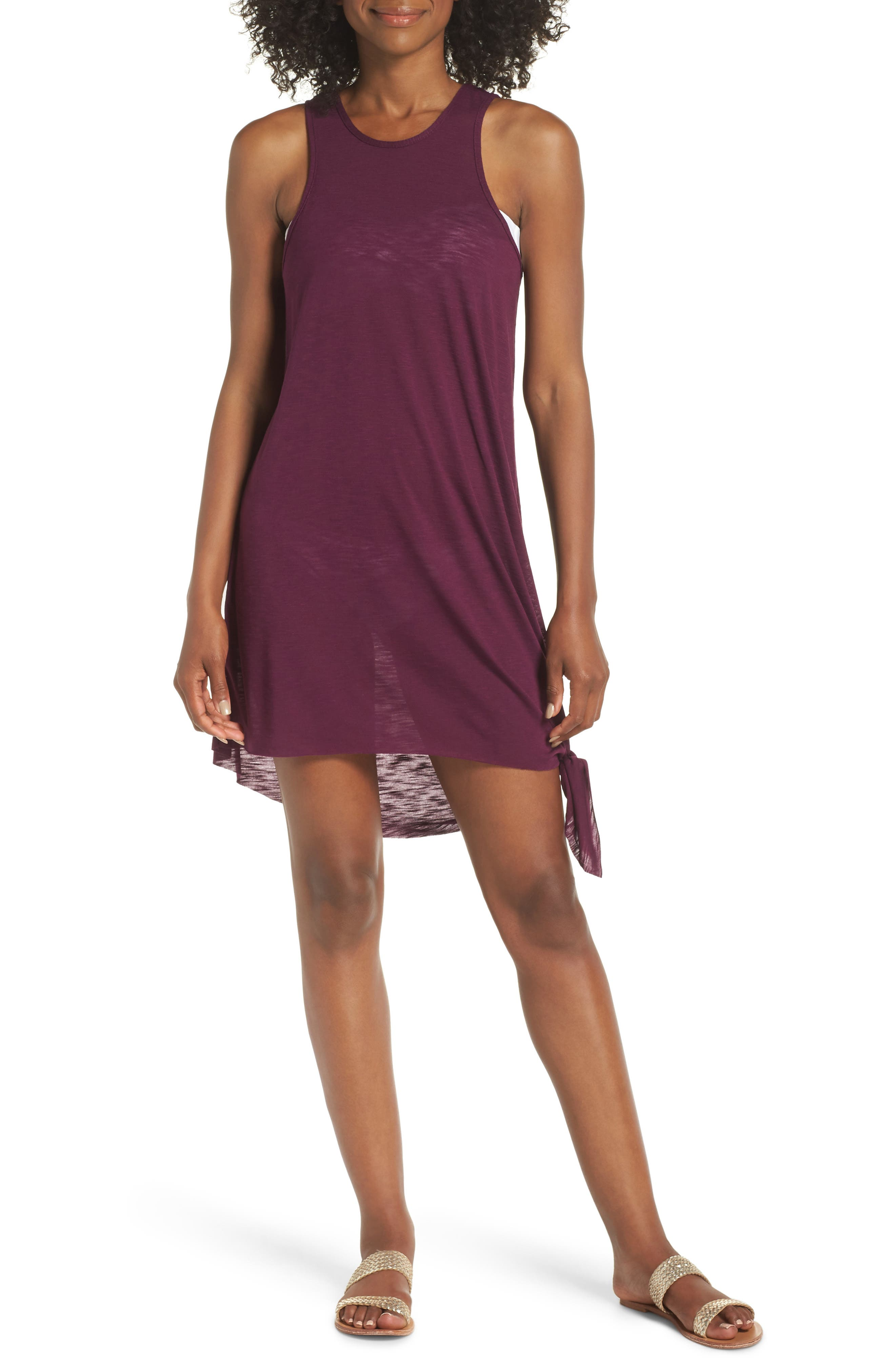 Becca Breezy Basics Cover-Up Dress, Purple