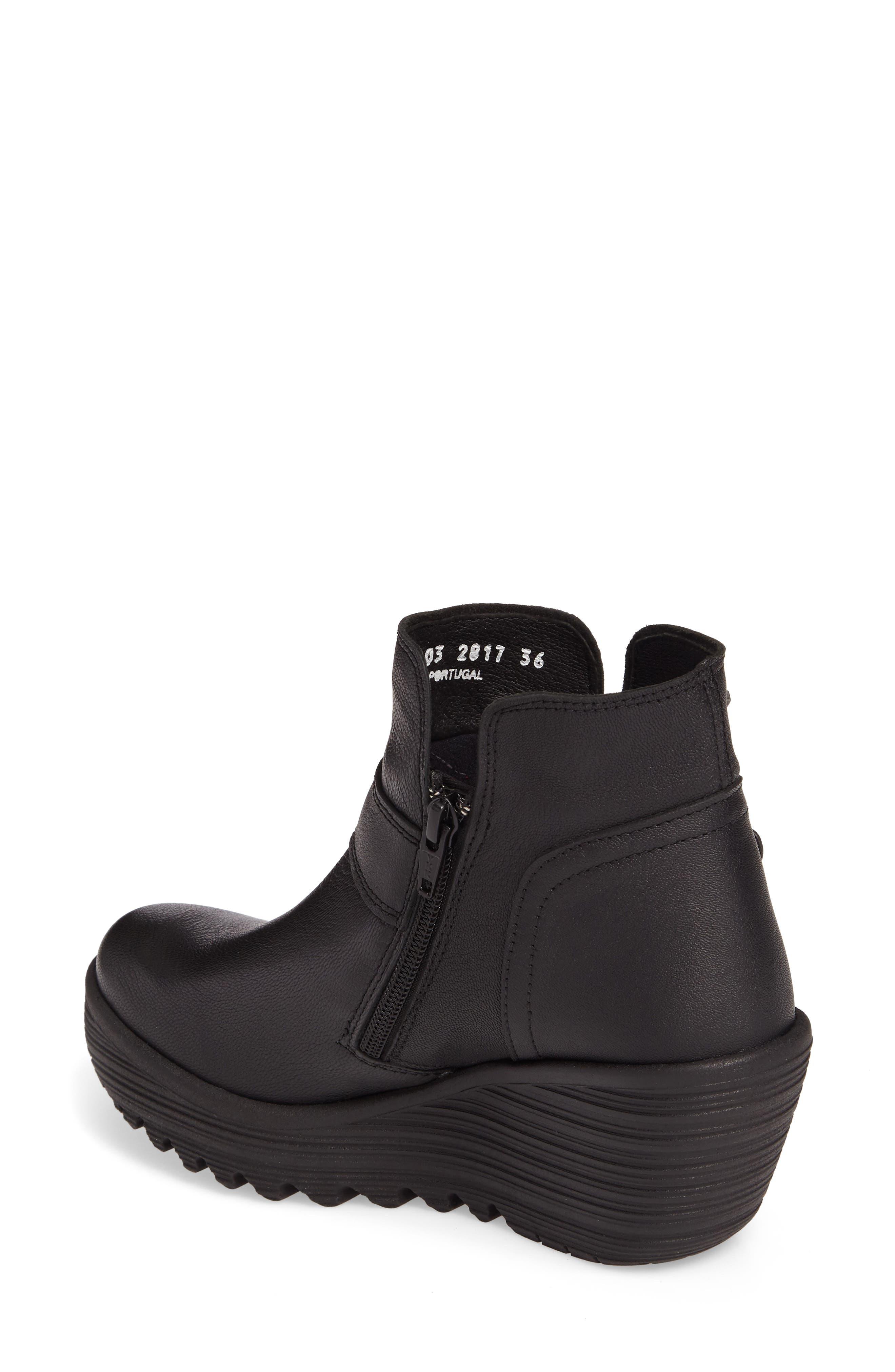 Yock Waterproof Gore-Tex<sup>®</sup> Wedge Boot,                             Alternate thumbnail 2, color,                             001