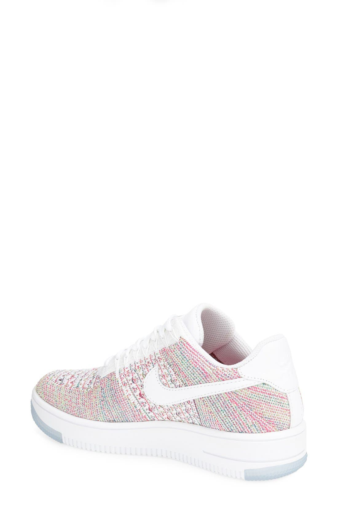 'Air Force 1 Flyknit Low' Sneaker,                             Alternate thumbnail 28, color,