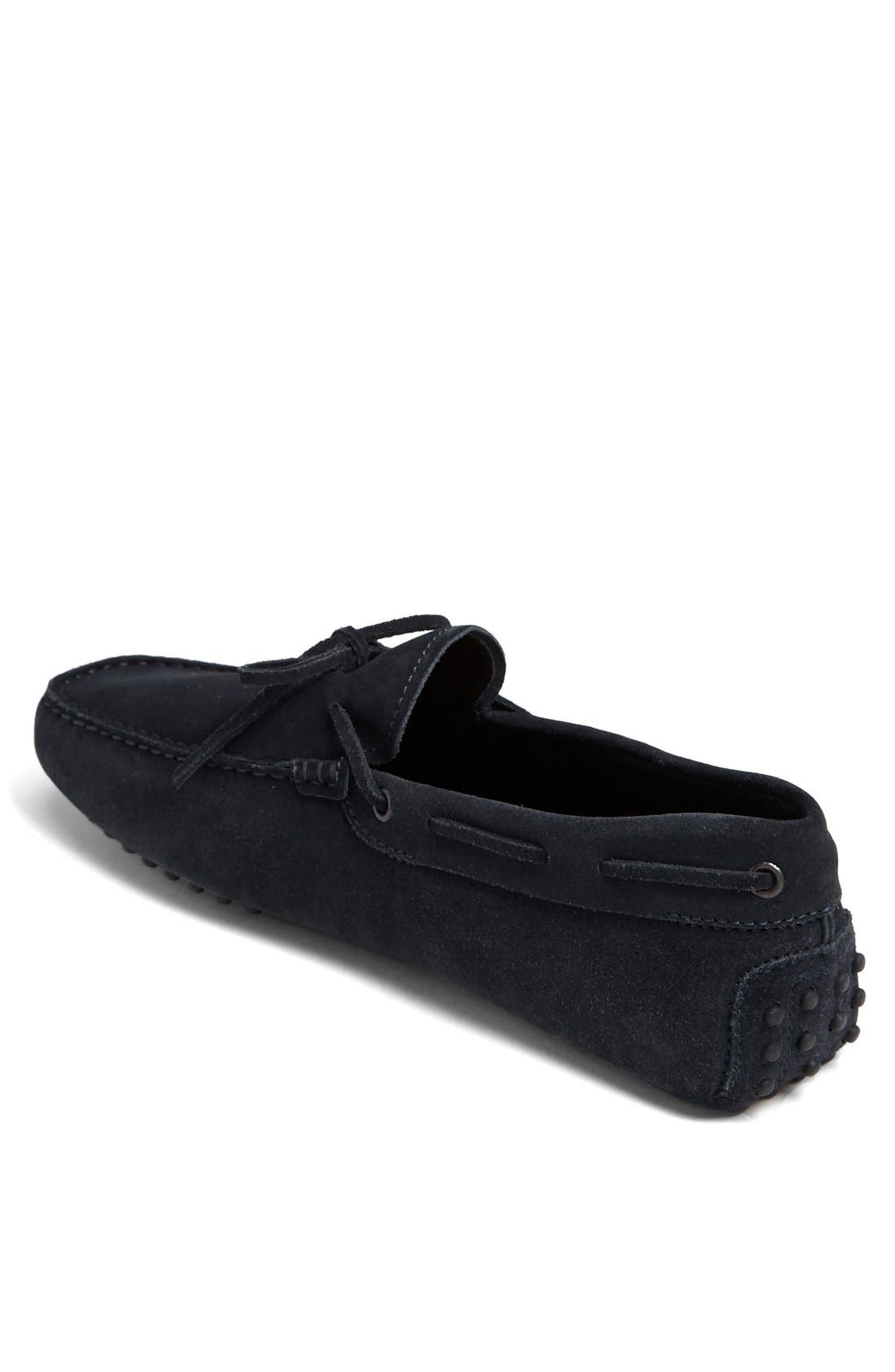 Gommini Tie Front Driving Moccasin,                             Alternate thumbnail 77, color,