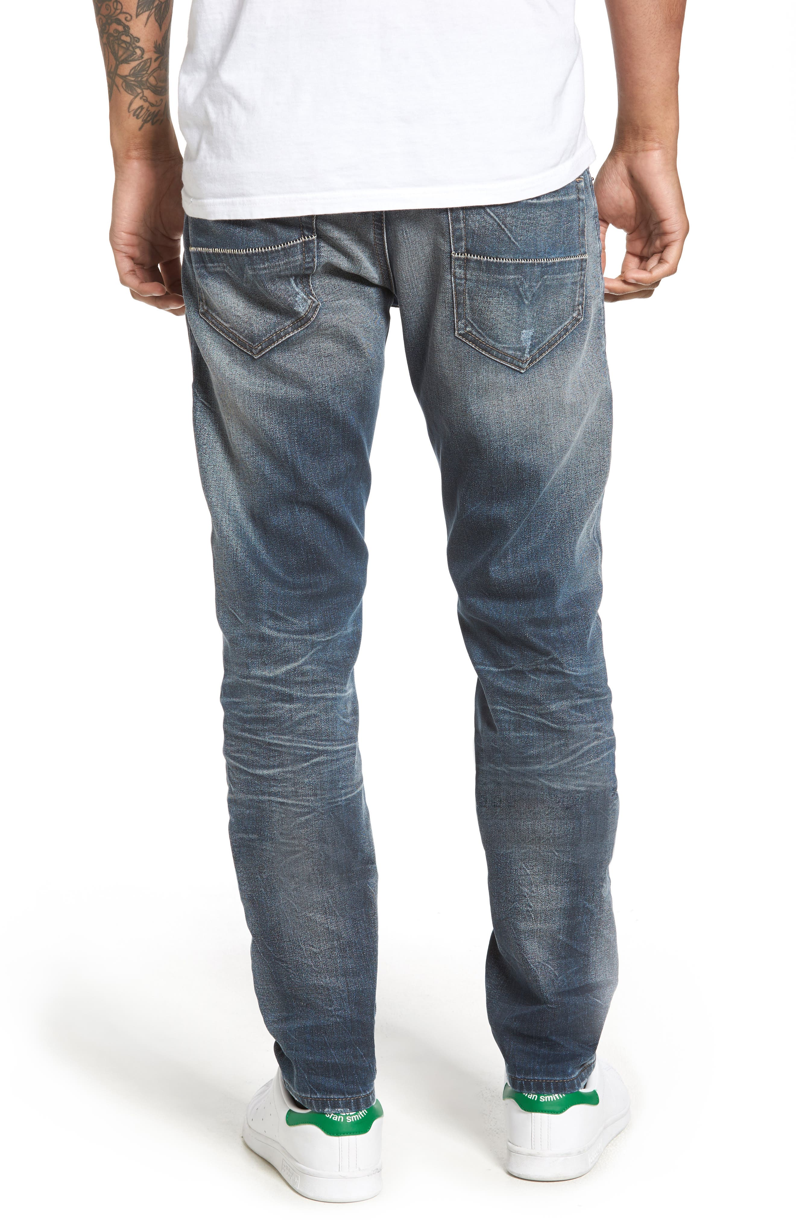 Thommer Slim Fit Jeans,                             Alternate thumbnail 2, color,                             400