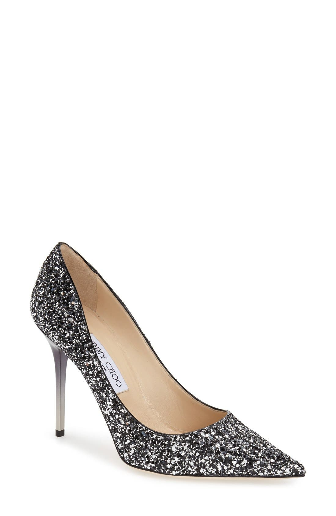 'Abel' Pointy Toe Pump,                         Main,                         color, 002