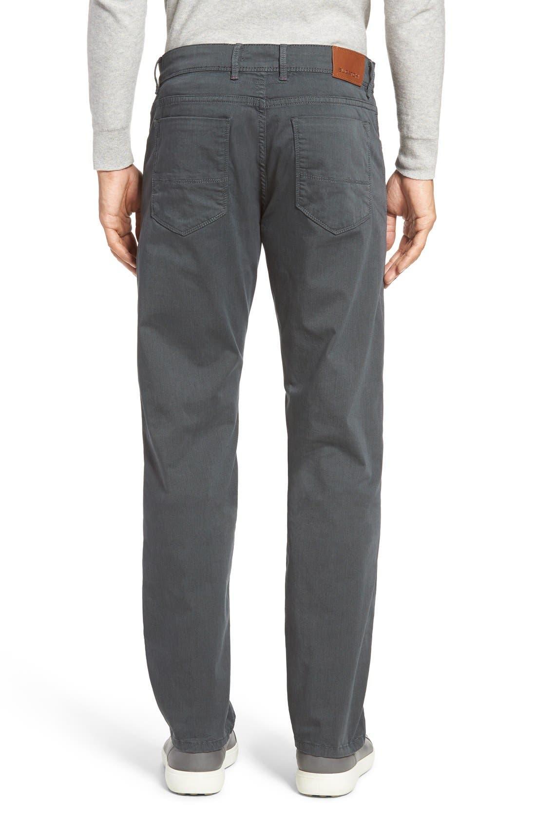 Slim Fit Five-Pocket Pants,                             Alternate thumbnail 2, color,                             017