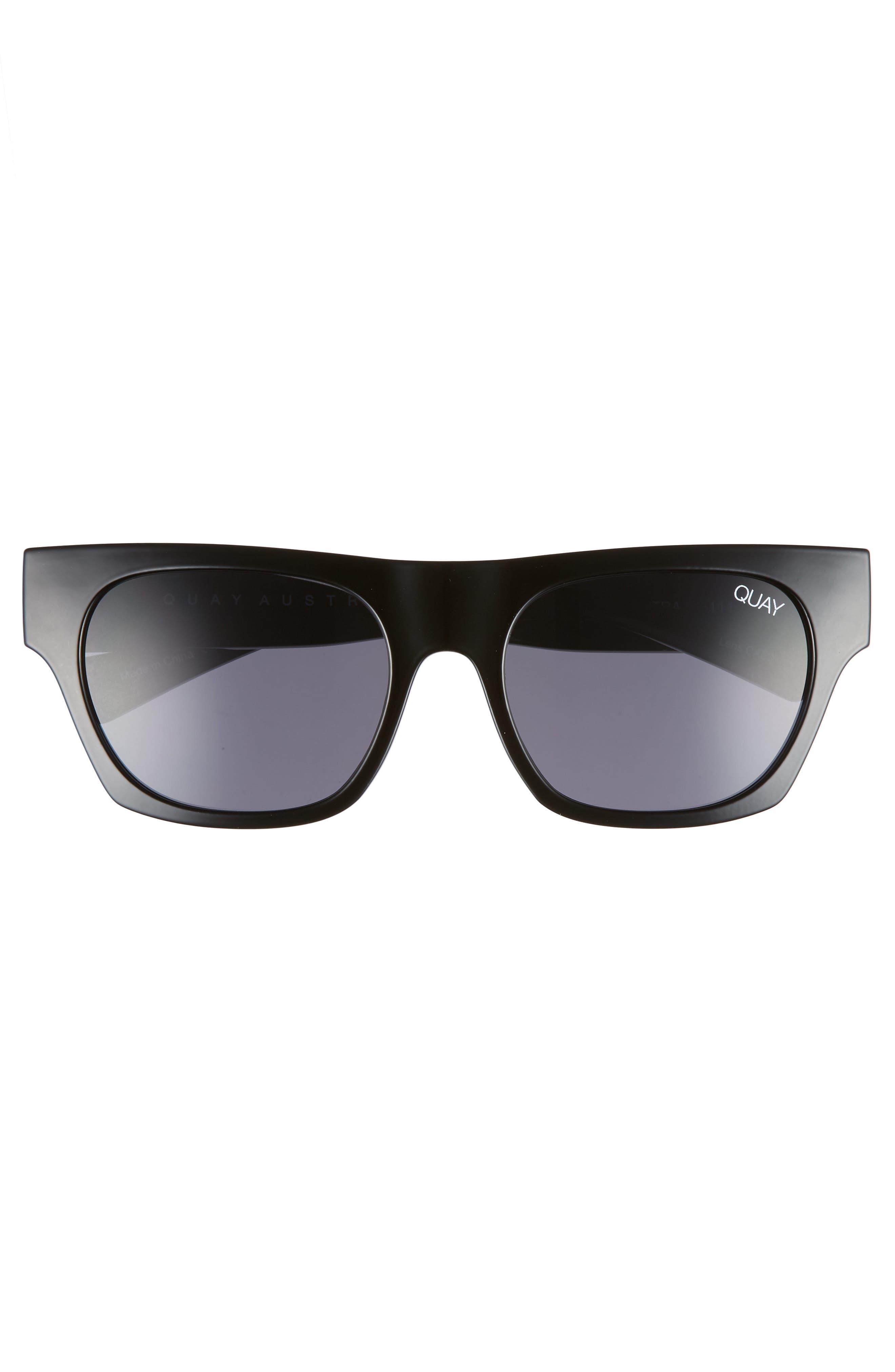 Something Extra 53mm Square Sunglasses,                             Alternate thumbnail 3, color,                             001