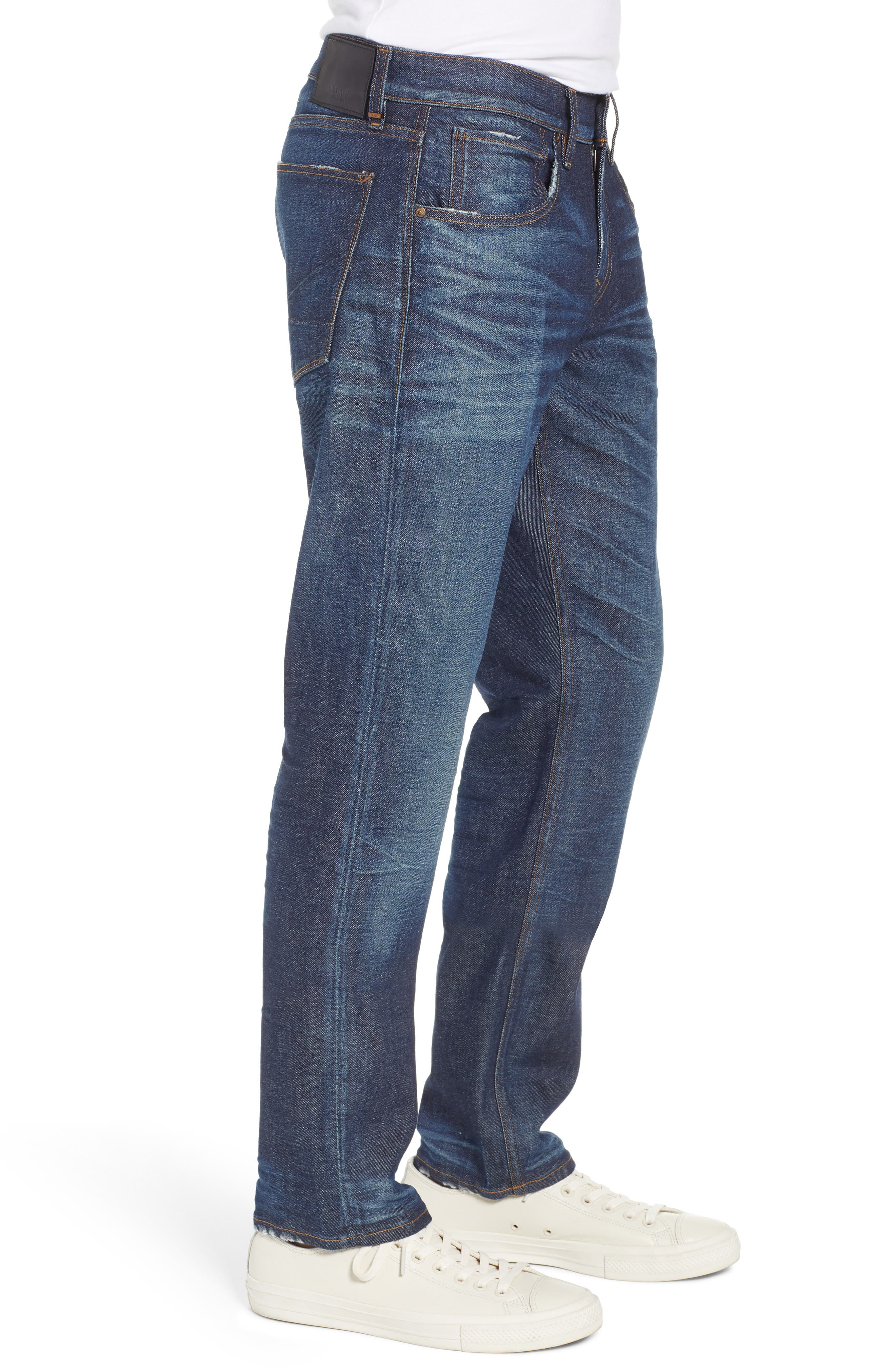 Byron Slim Straight Fit Jeans,                             Alternate thumbnail 3, color,                             ALBANY