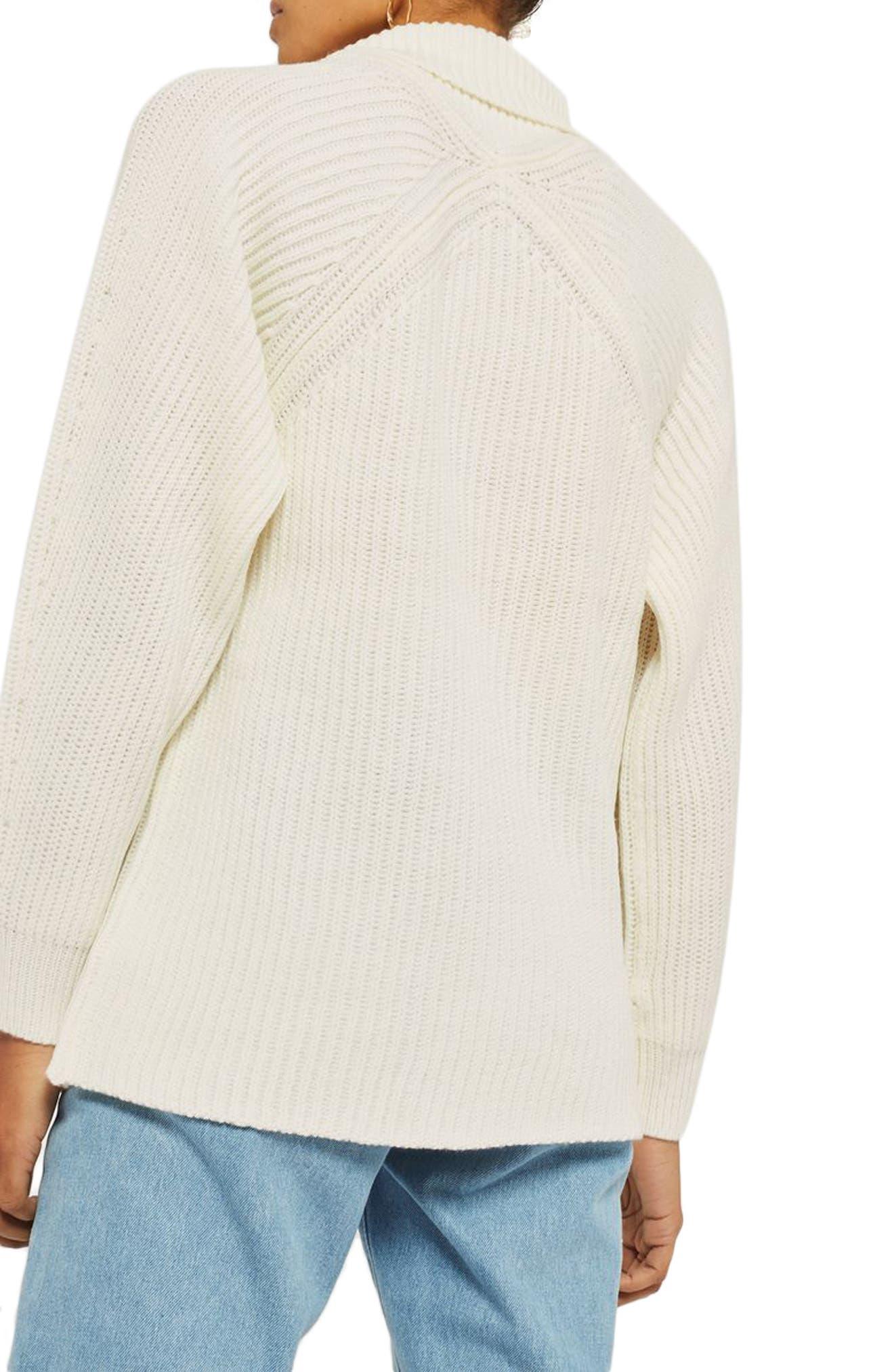 Diamond Stitch Turtleneck Sweater,                             Alternate thumbnail 2, color,                             900