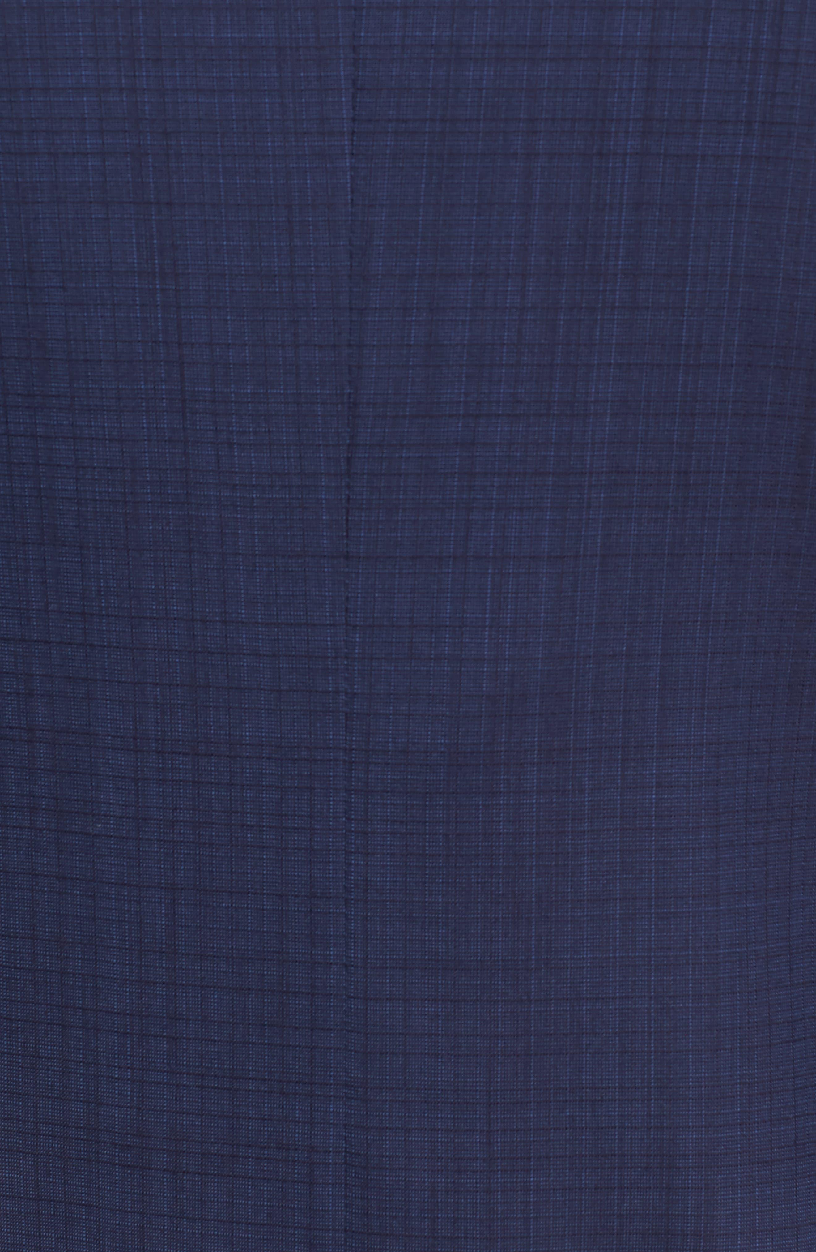 Classic Fit Check Wool Suit,                             Alternate thumbnail 7, color,                             400