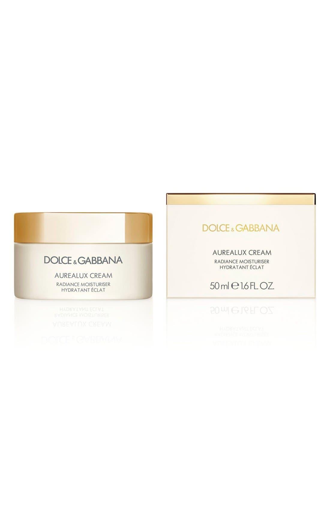 Dolce&GabbanaBeauty 'Aurealux' Cream Radiance Moisturizer,                             Alternate thumbnail 2, color,