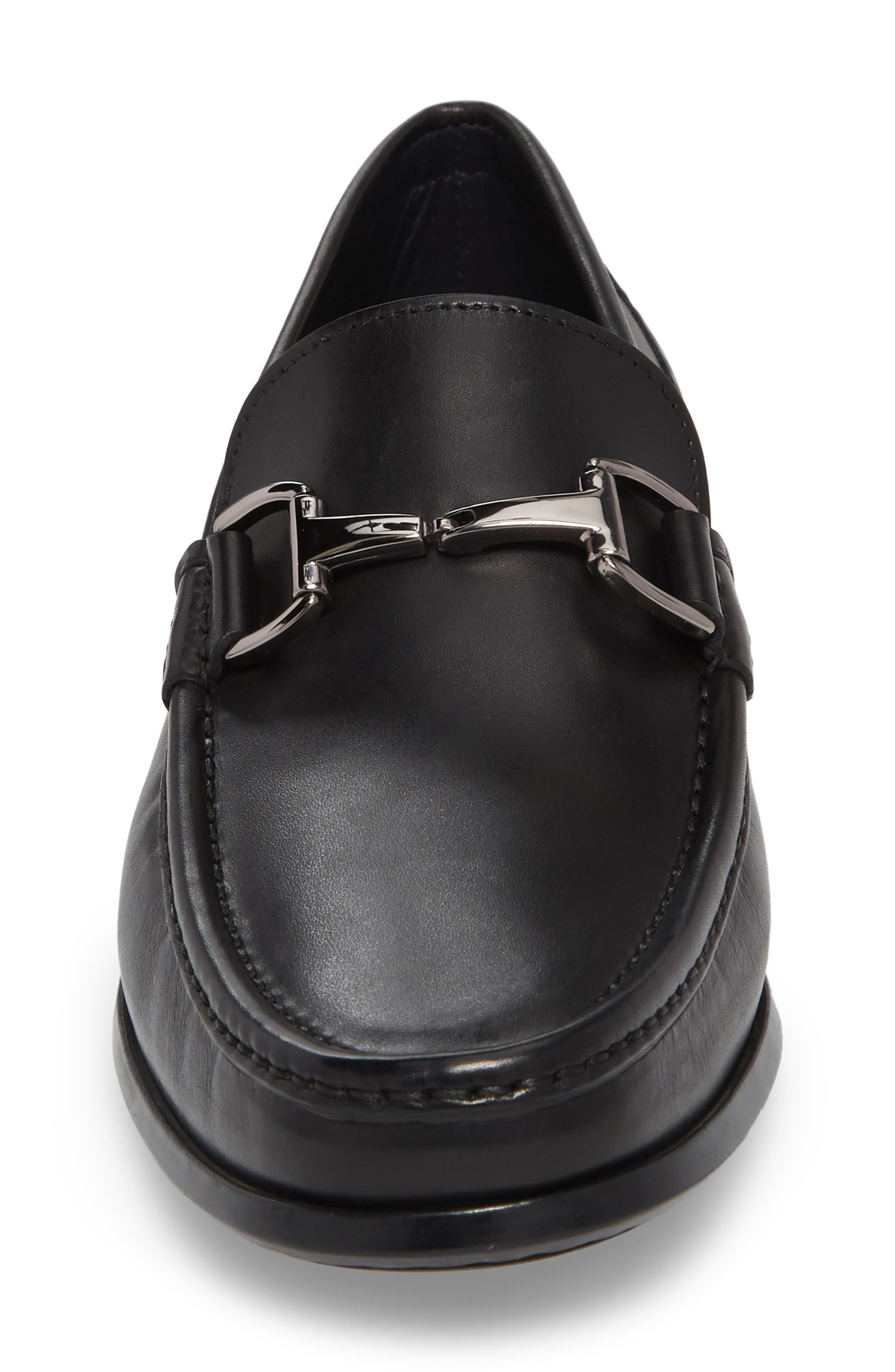 Gio Bit Loafer,                             Alternate thumbnail 4, color,                             001