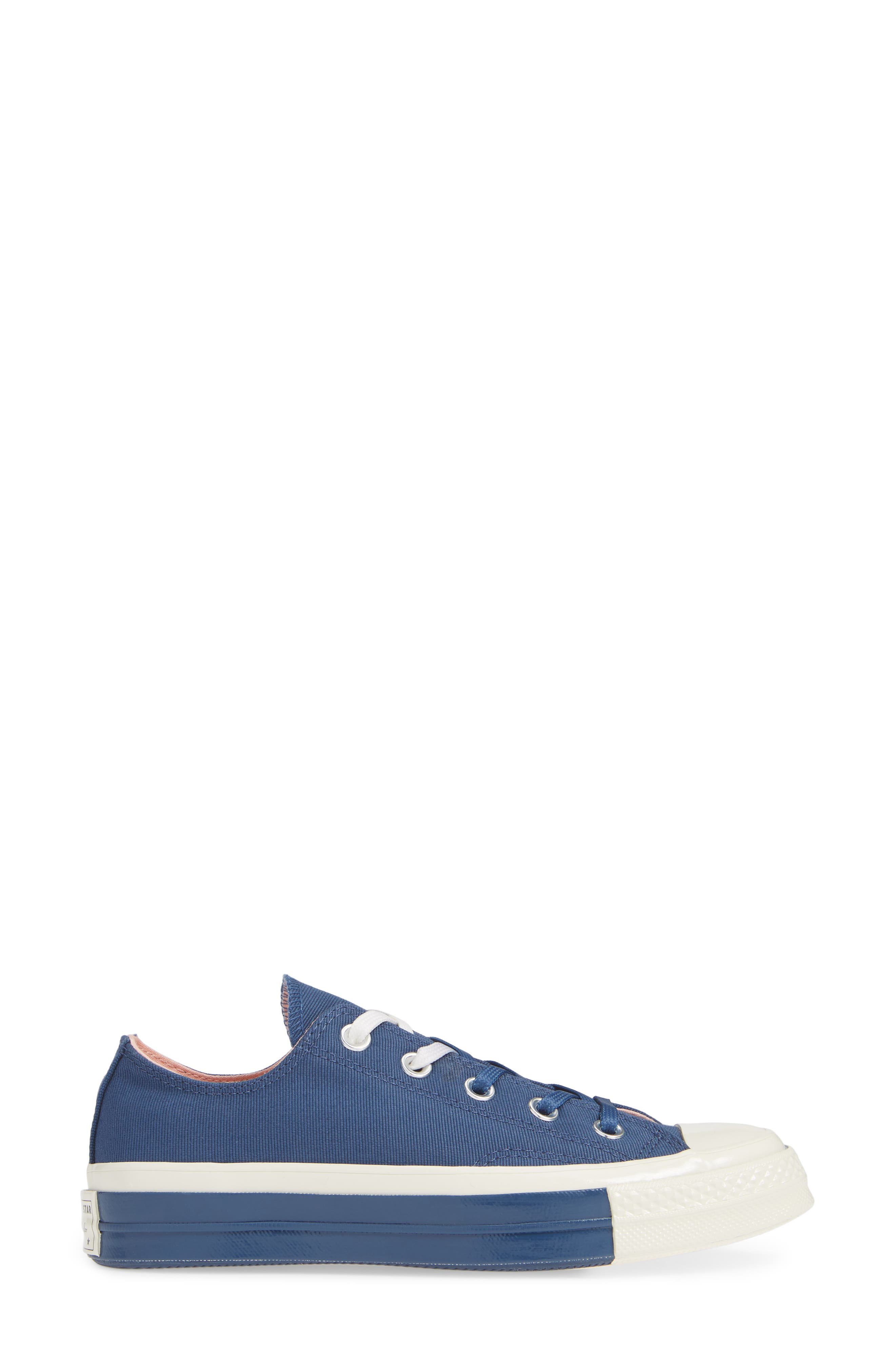 Chuck Taylor<sup>®</sup> All Star<sup>®</sup> 70 Colorblock Low Top Sneaker,                             Alternate thumbnail 3, color,                             MASON BLUE