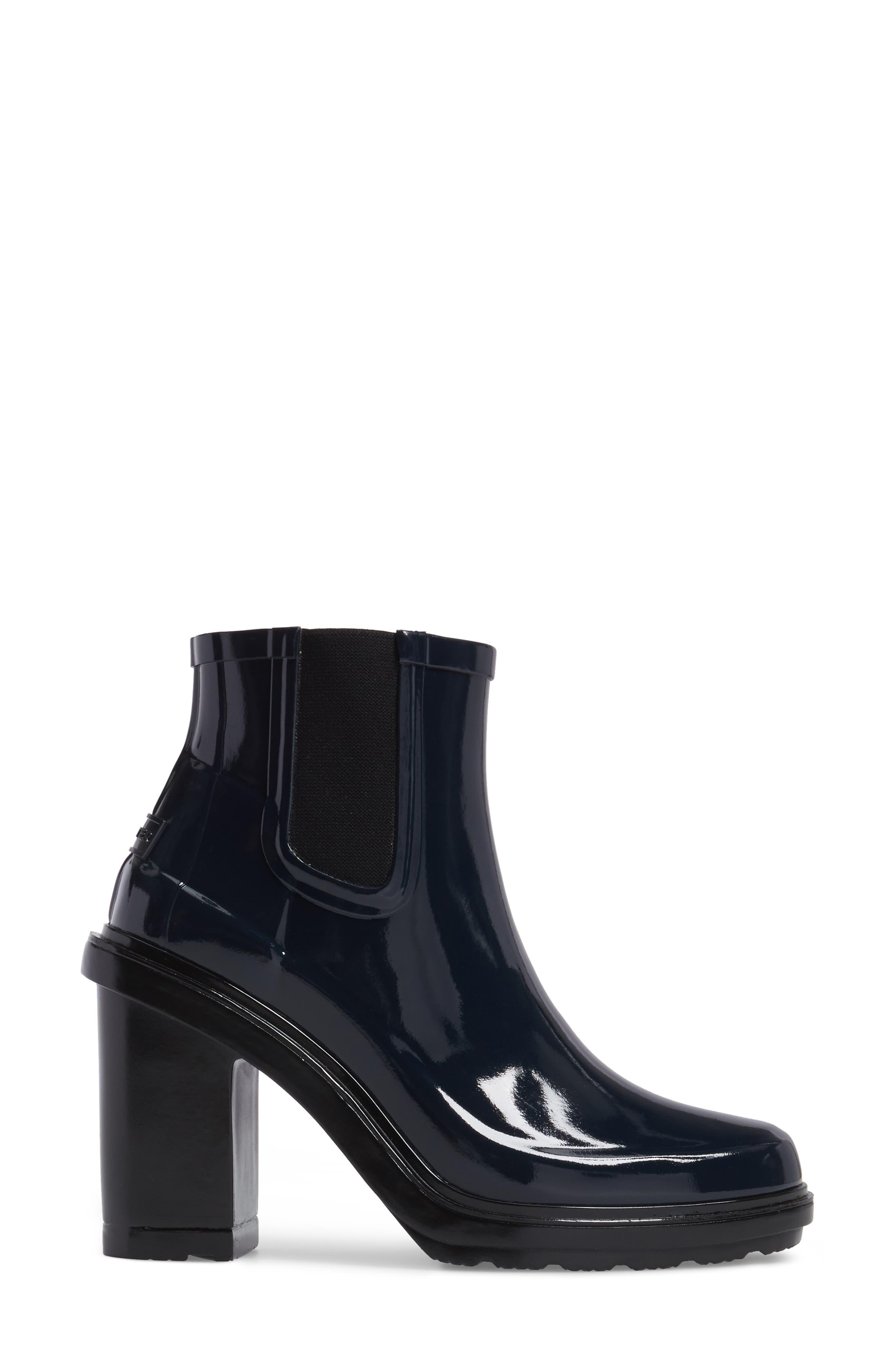 'Original Refined' Chelsea Rain Boot,                             Alternate thumbnail 3, color,                             410