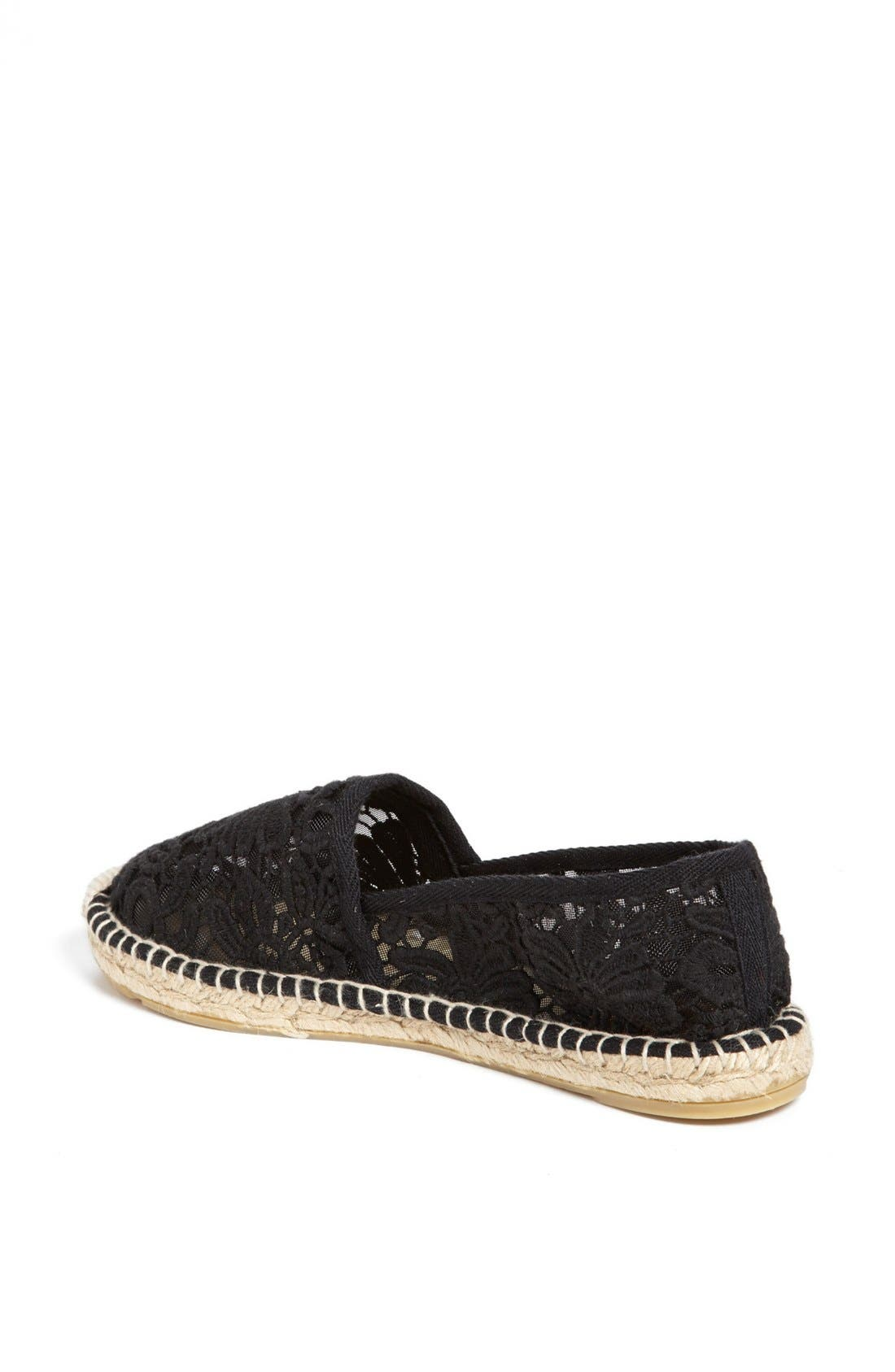 TORY BURCH,                             'Abbe' Espadrille,                             Alternate thumbnail 2, color,                             001