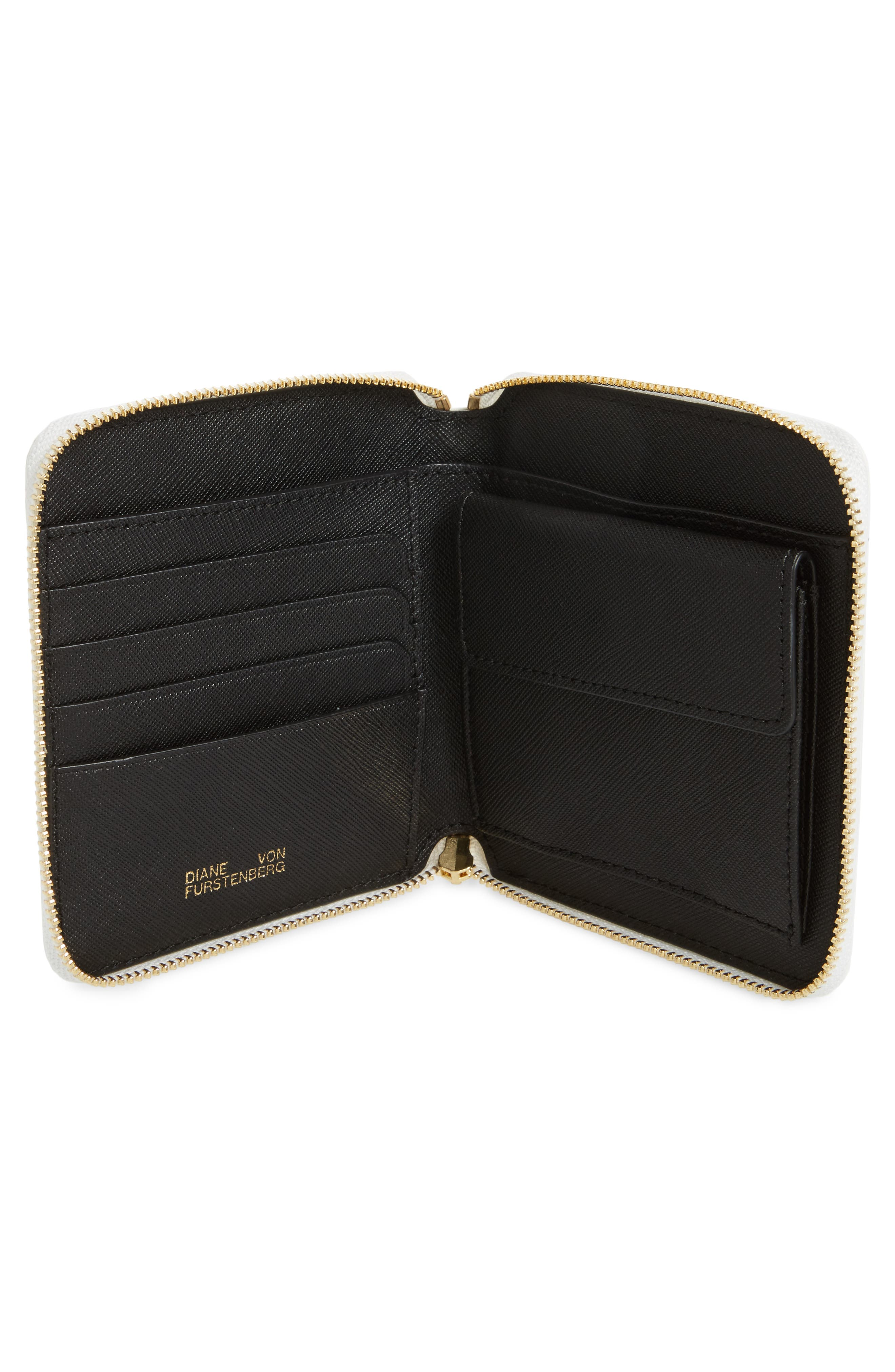 Small Leather & Genuine Snakeskin Zip Wallet,                             Alternate thumbnail 2, color,                             700
