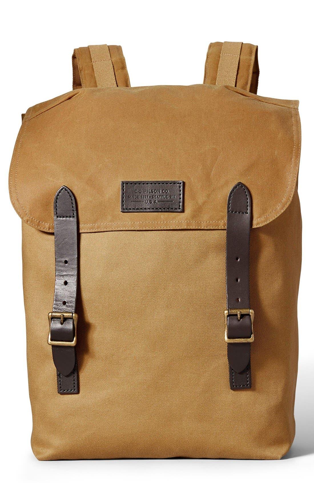 'Ranger' Canvas Backpack,                             Main thumbnail 2, color,