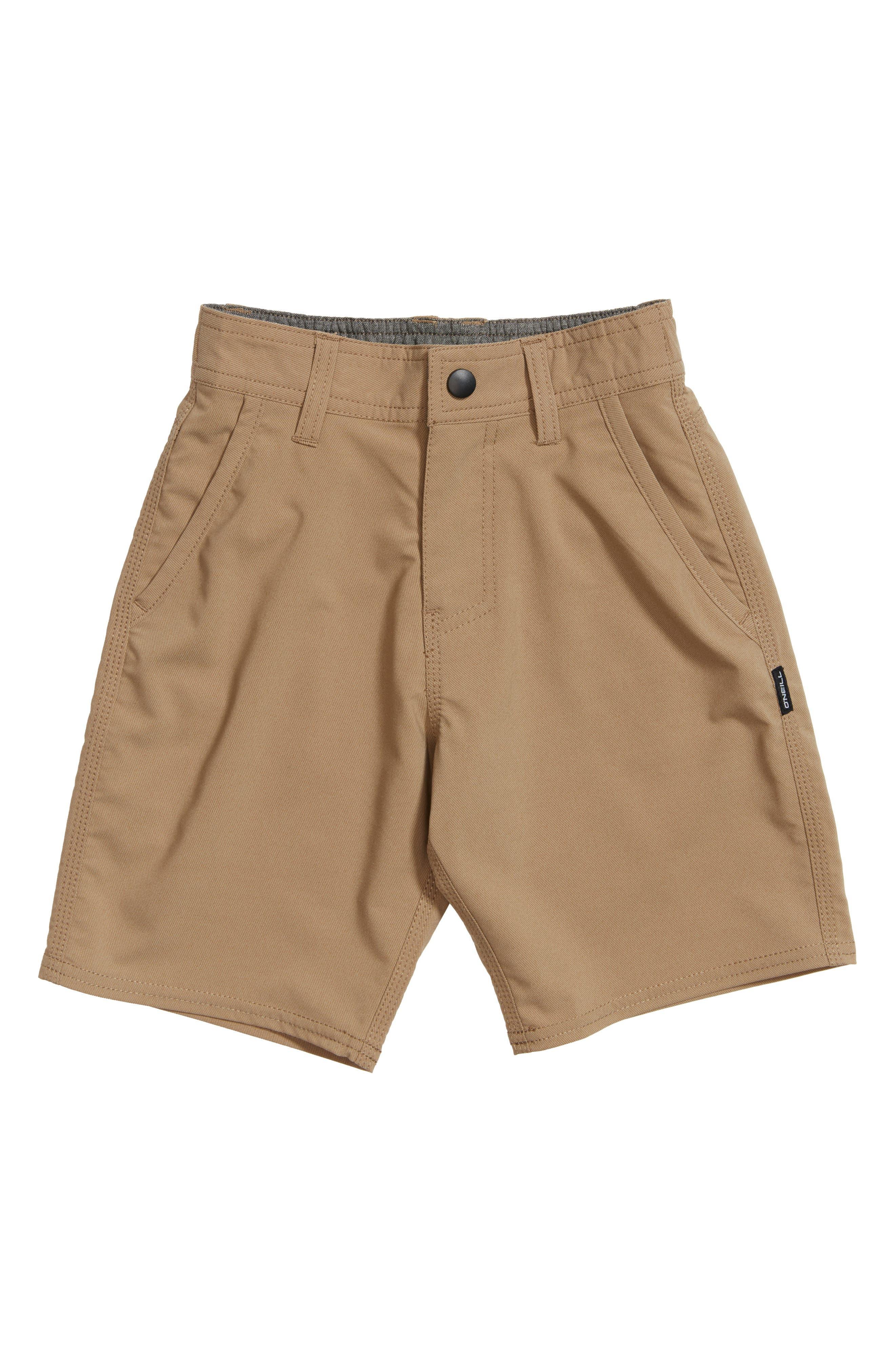 Stockton Hybrid Shorts,                             Main thumbnail 1, color,                             KHAKI