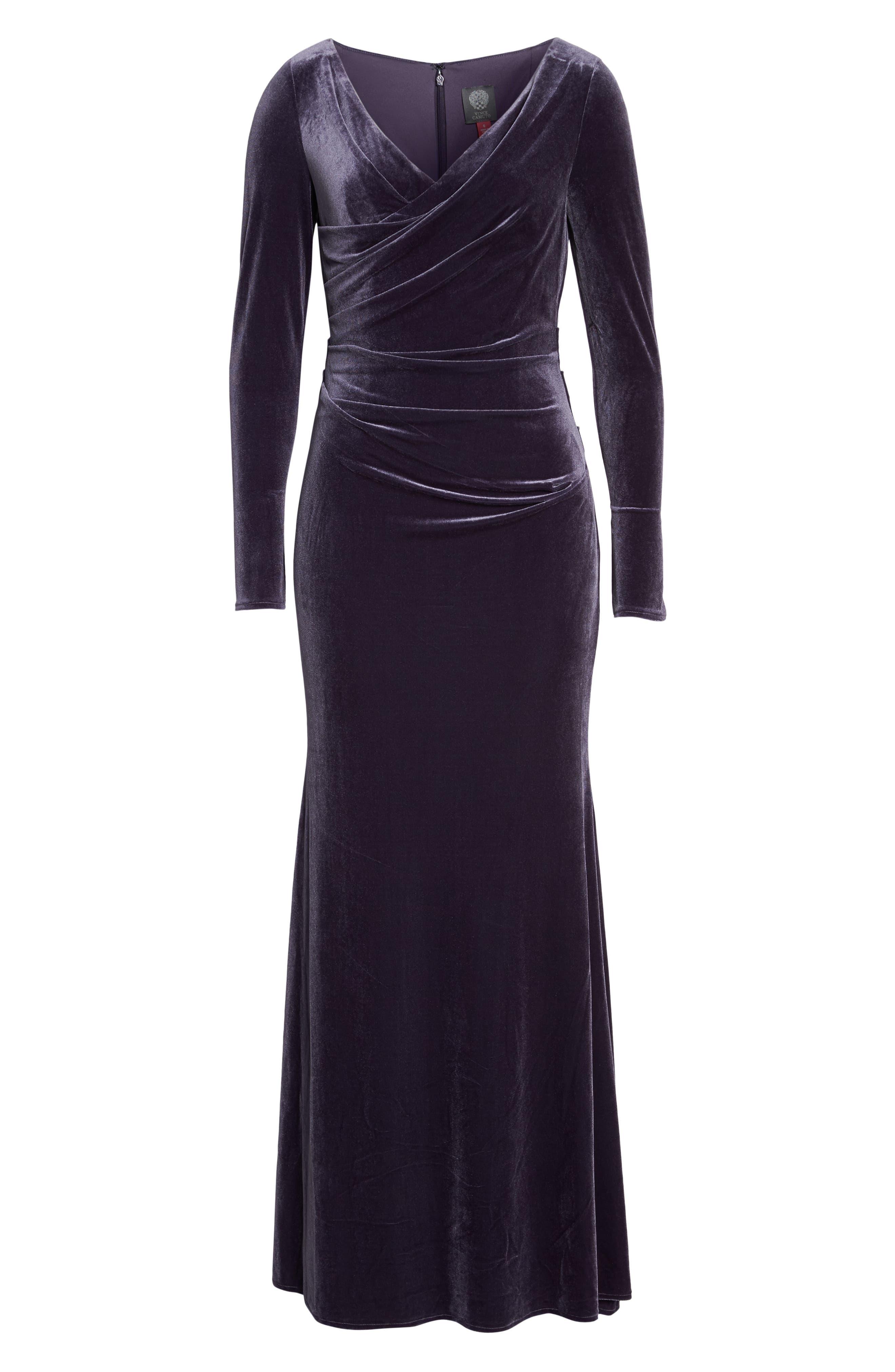 Velvet Gown,                             Alternate thumbnail 23, color,