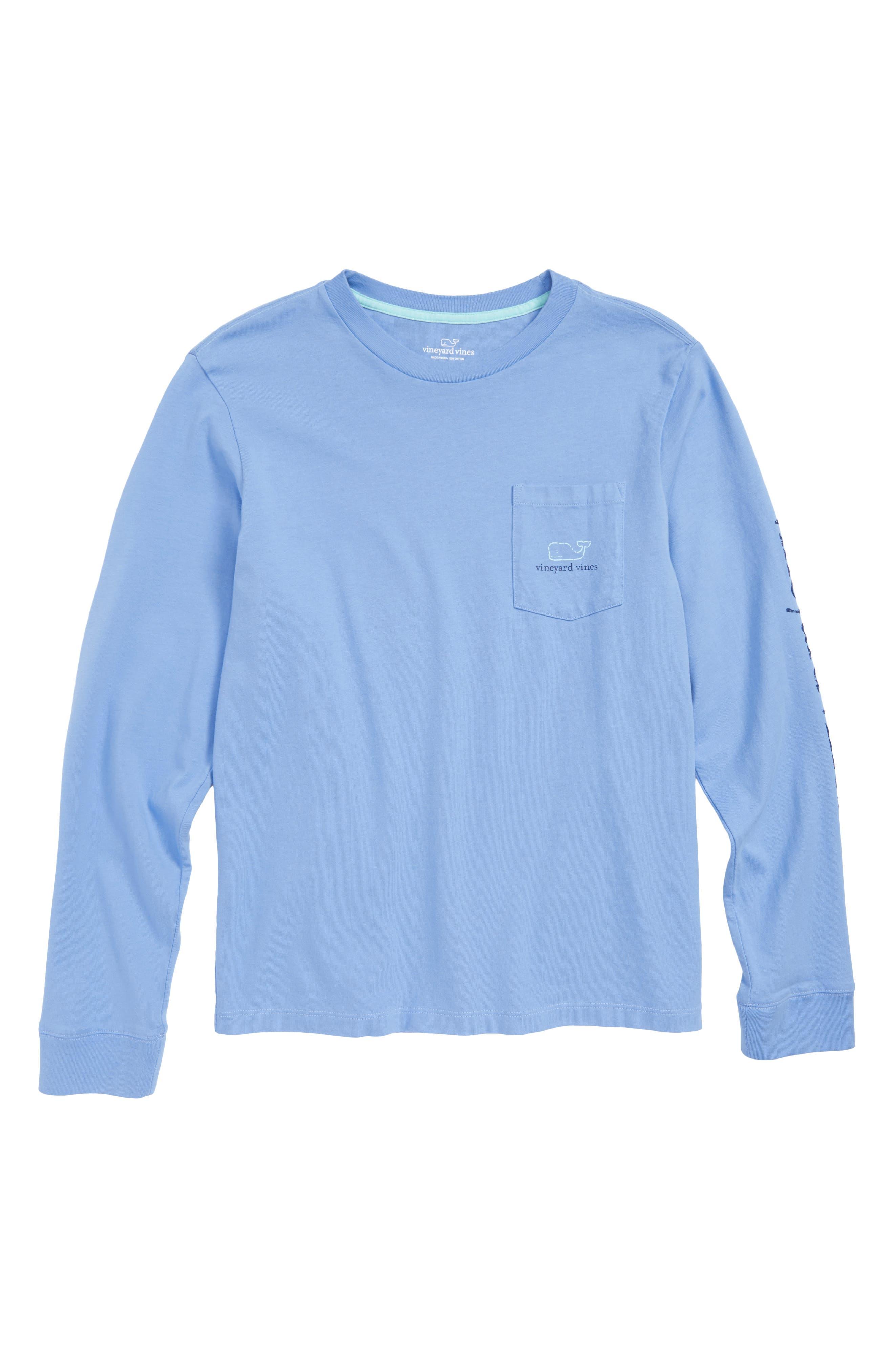 Vintage Whale Pocket T-Shirt,                         Main,                         color, 426