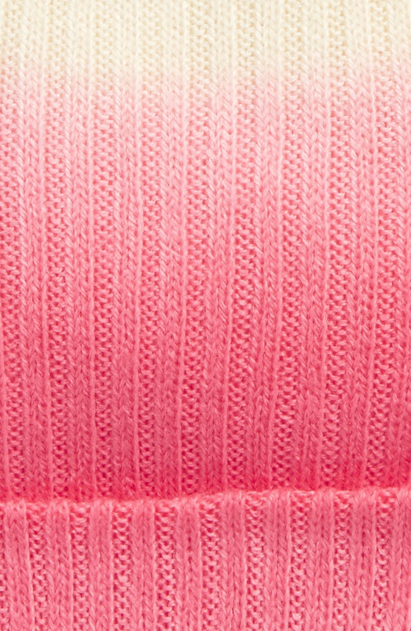 Ombré Knit Beanie,                             Alternate thumbnail 7, color,