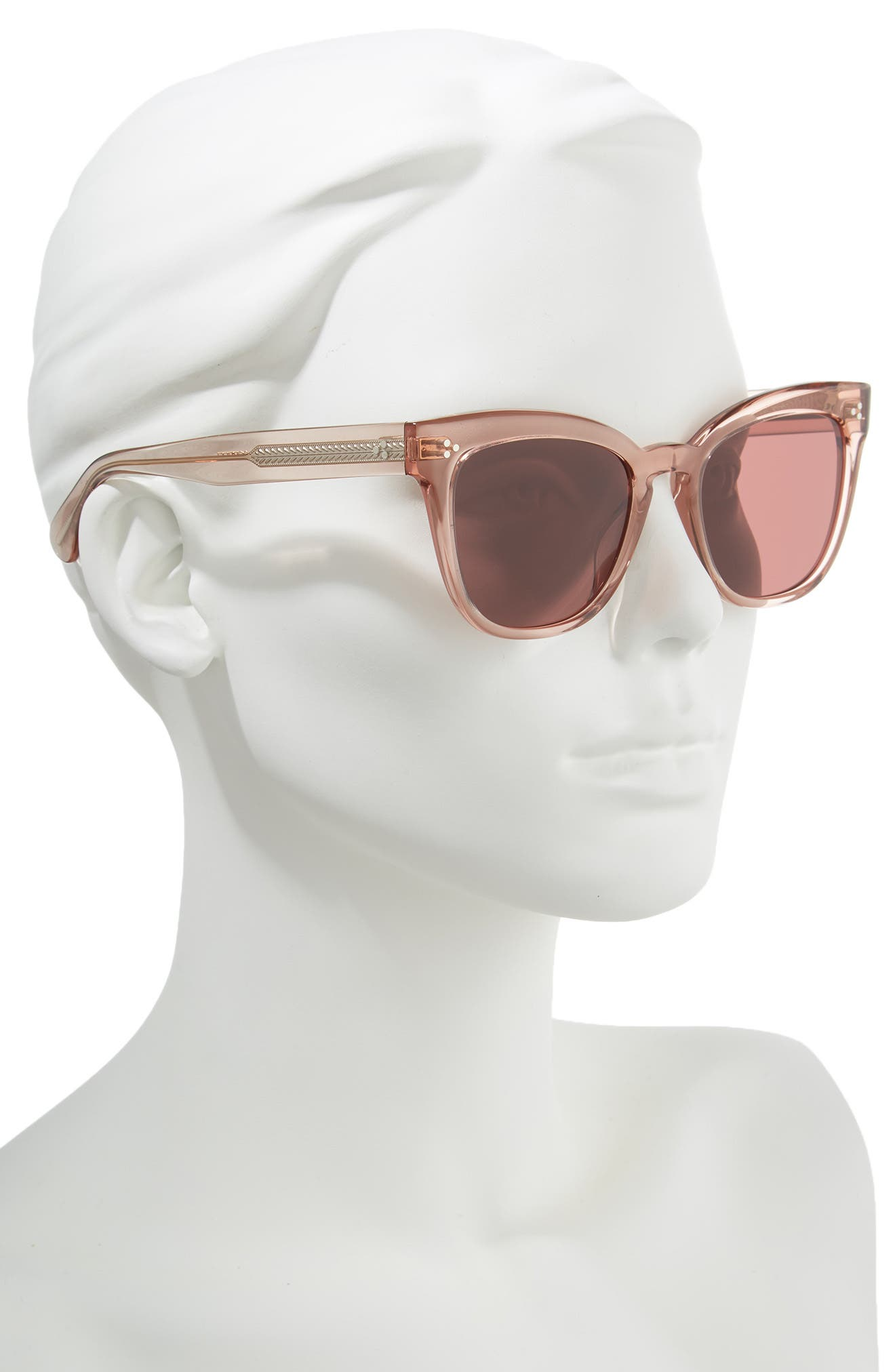 OLIVER PEOPLES,                             Marianela 54mm Cat Eye Sunglasses,                             Alternate thumbnail 2, color,                             WASHED ROSE