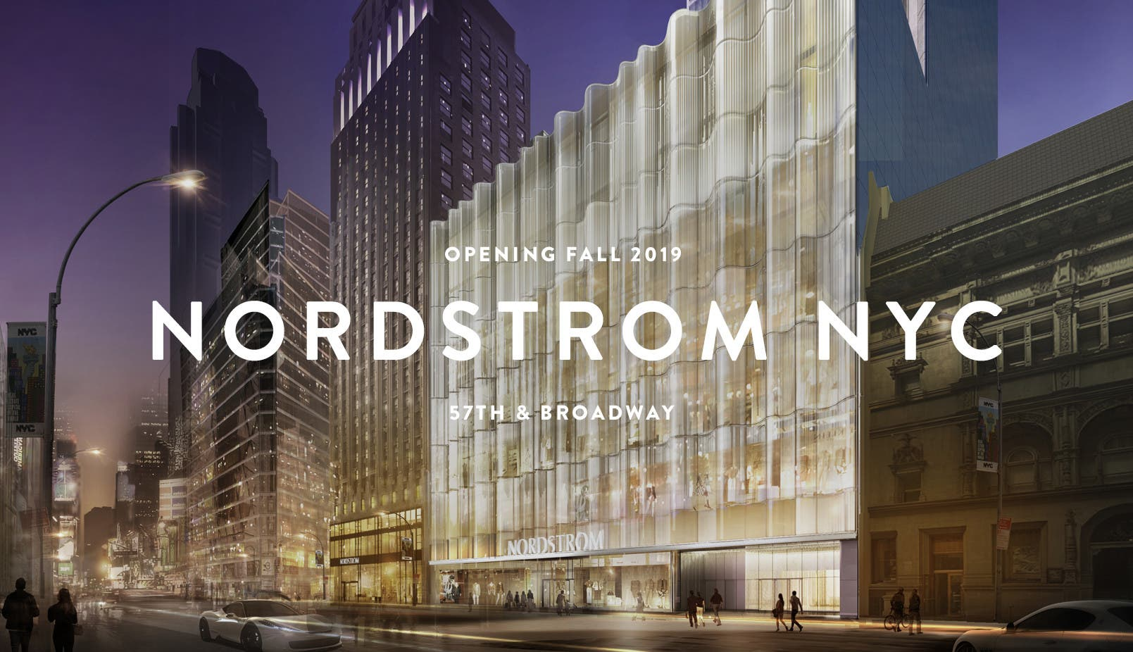 414f3cb1e Nordstrom NYC: opening Fall 2019.