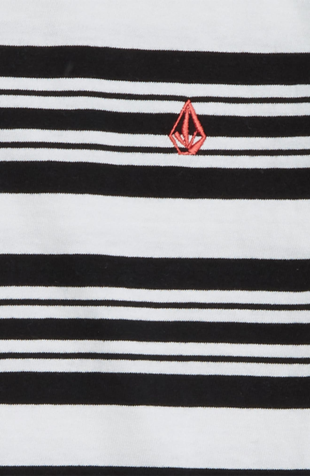 Randall Stripe T-Shirt,                             Alternate thumbnail 2, color,                             WHITE