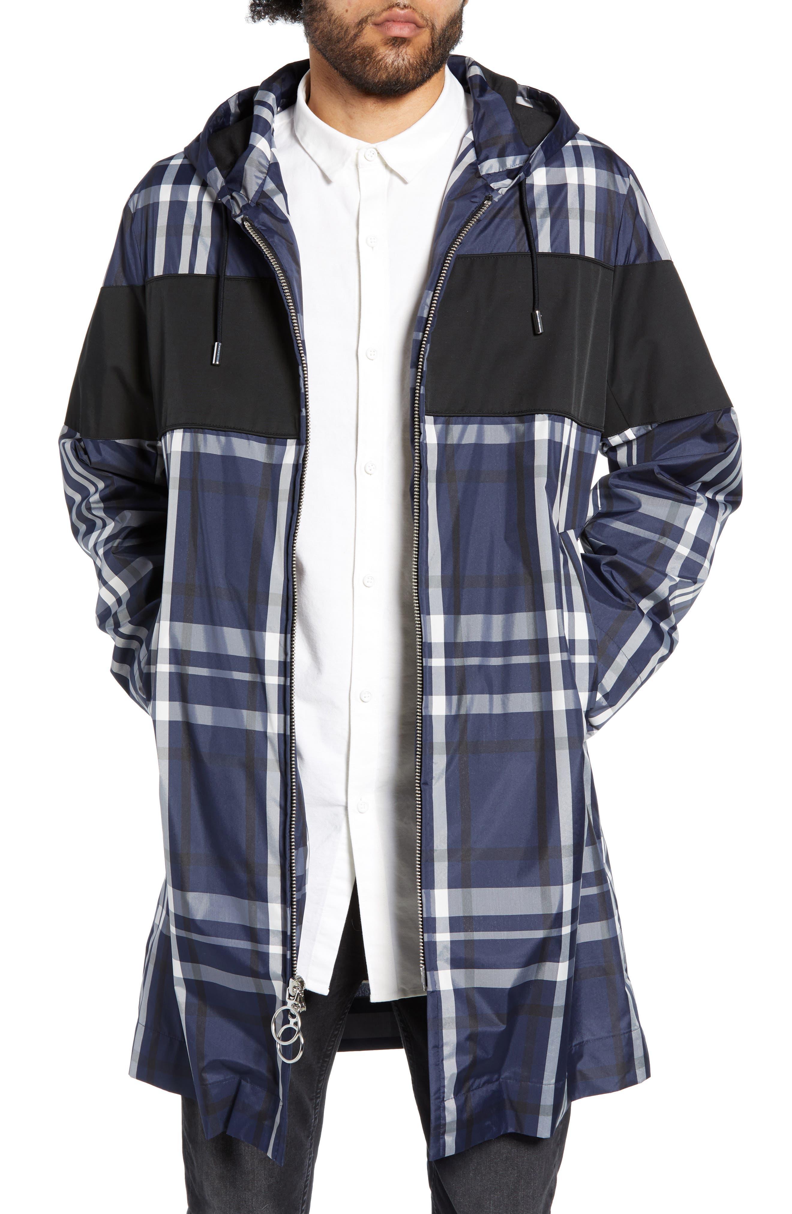 The Very Warm Theodore Rain Jacket, Blue