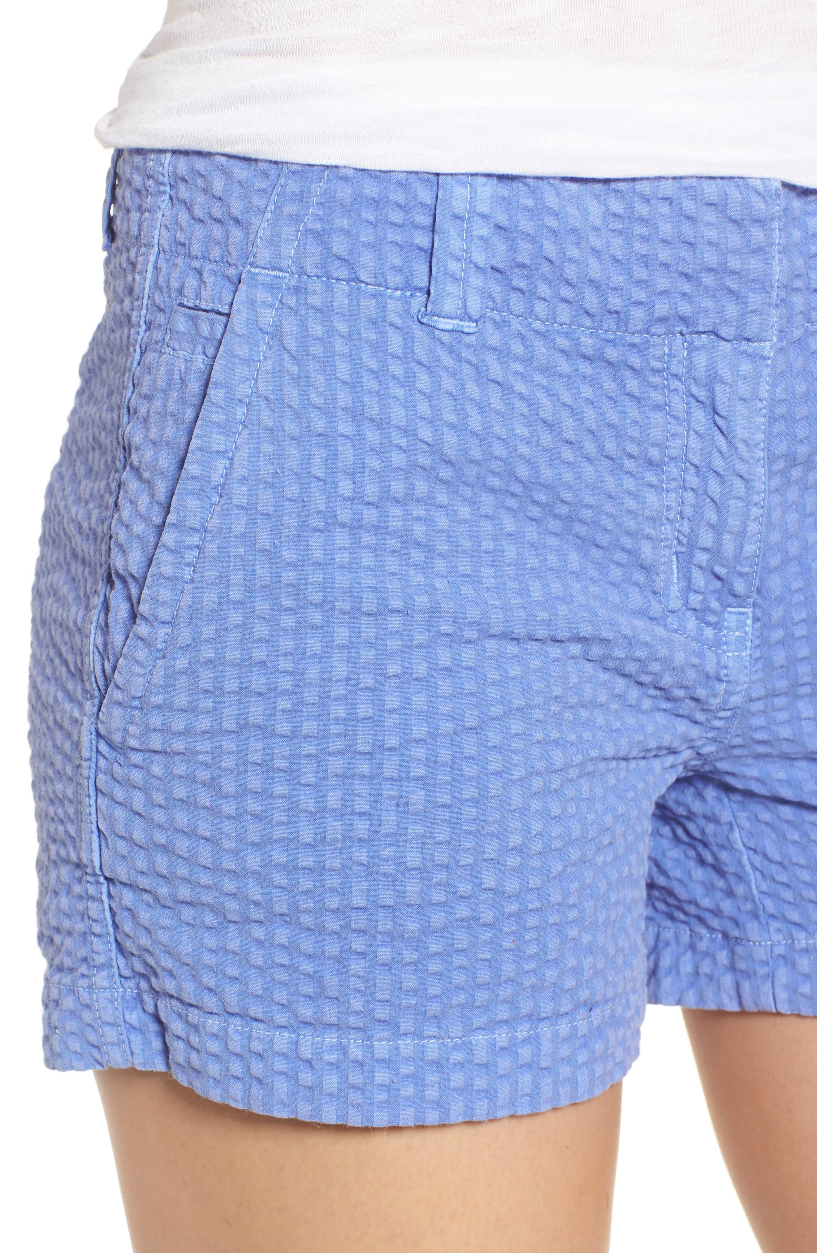 Everyday Seersucker Shorts,                             Alternate thumbnail 7, color,