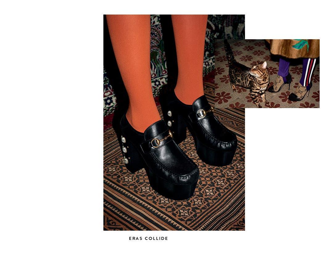 Gucci shoes.