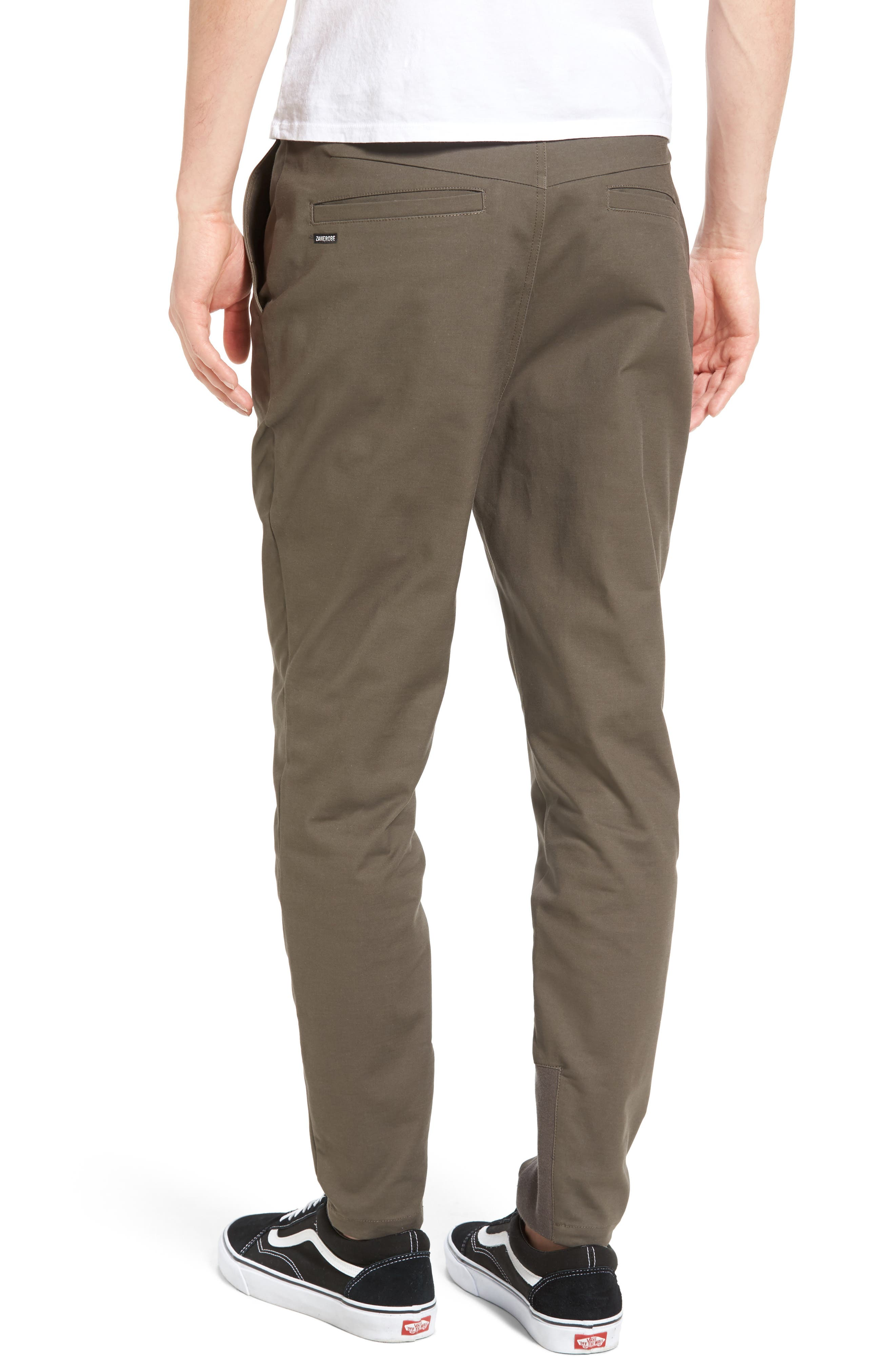'Sharpshot' Slouchy Skinny Fit Chinos,                             Alternate thumbnail 10, color,