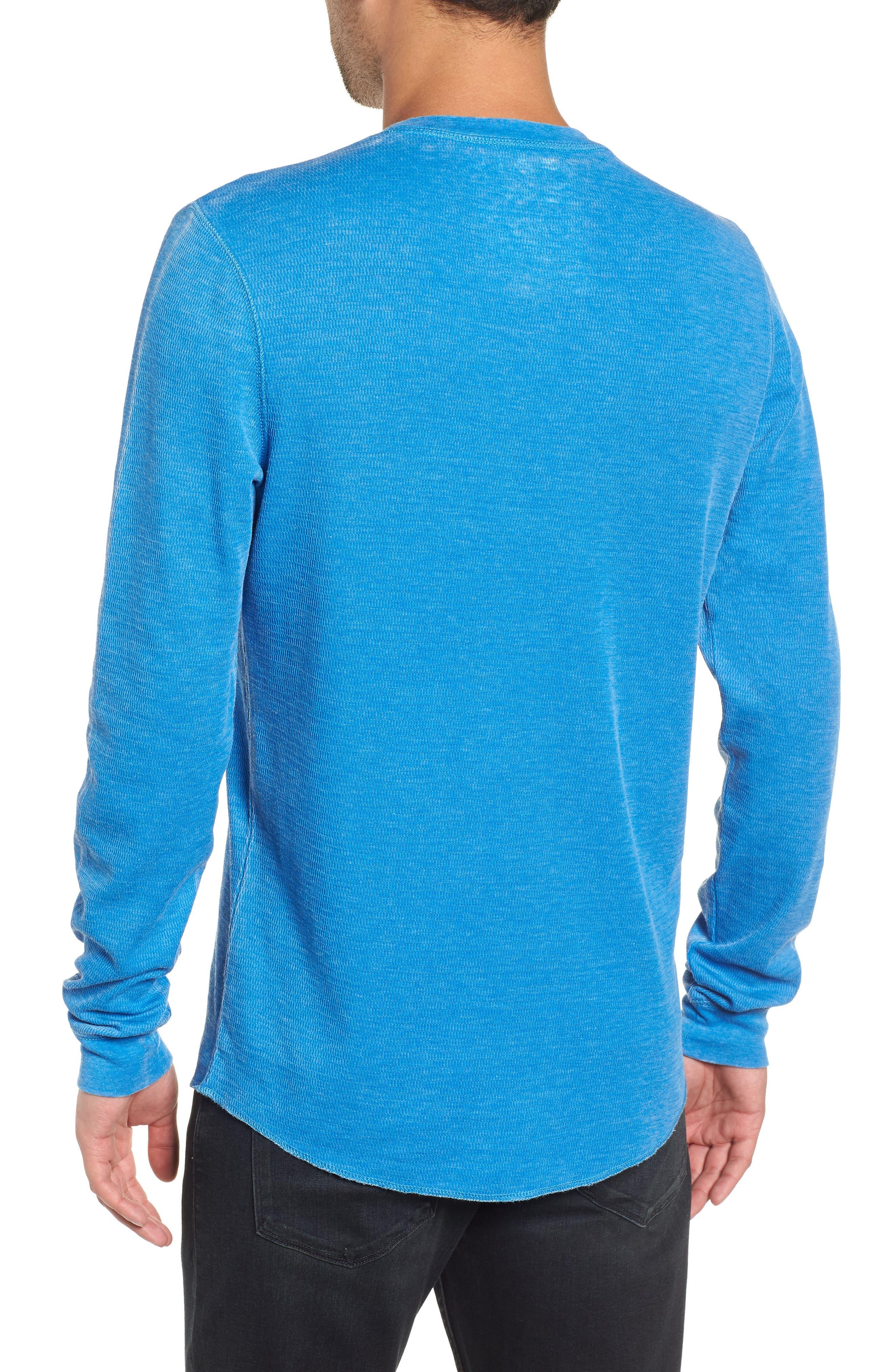 Notch Neck Thermal T-Shirt,                             Alternate thumbnail 12, color,