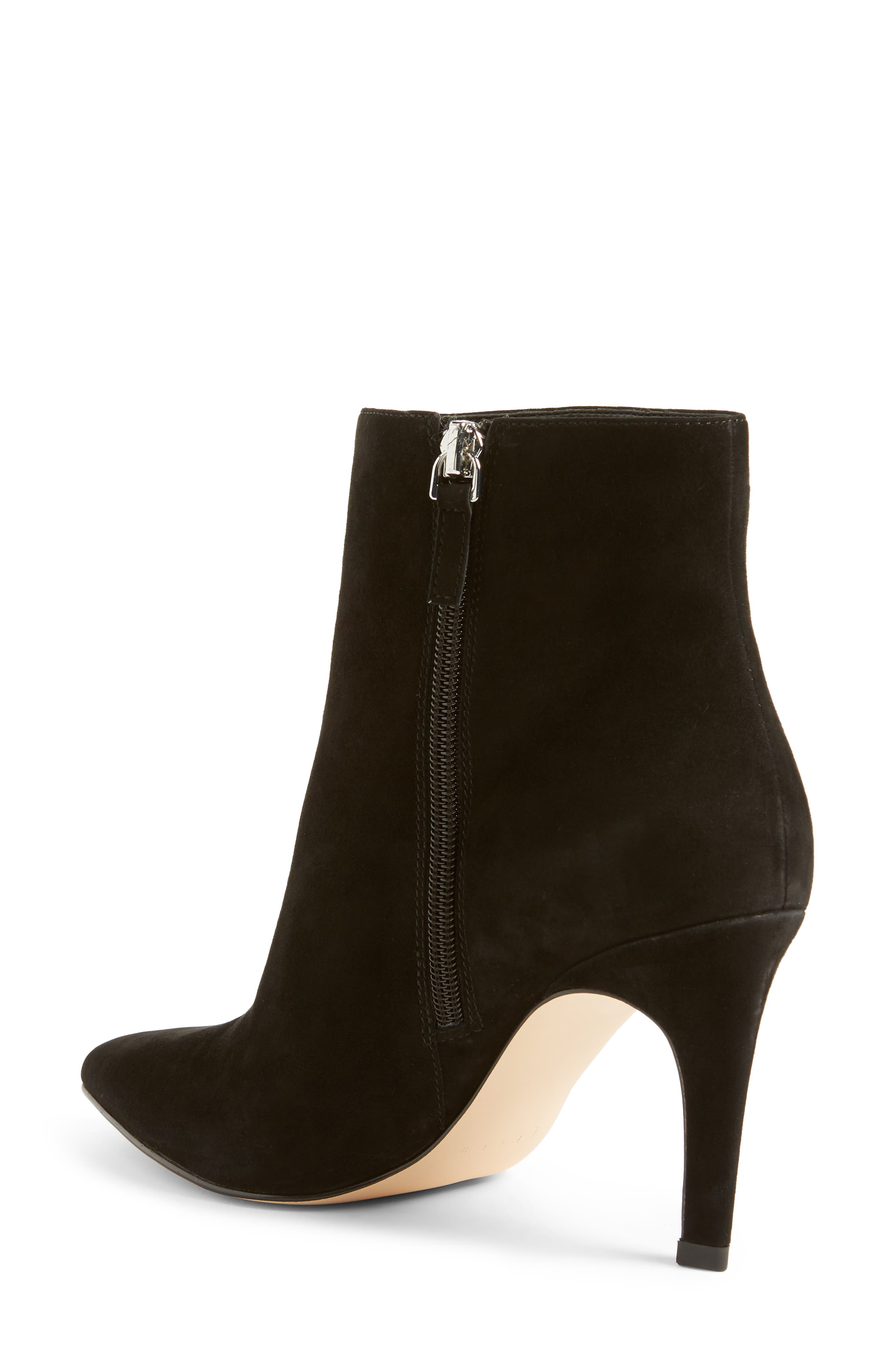 Macee Bootie,                             Alternate thumbnail 2, color,                             BLACK SUEDE