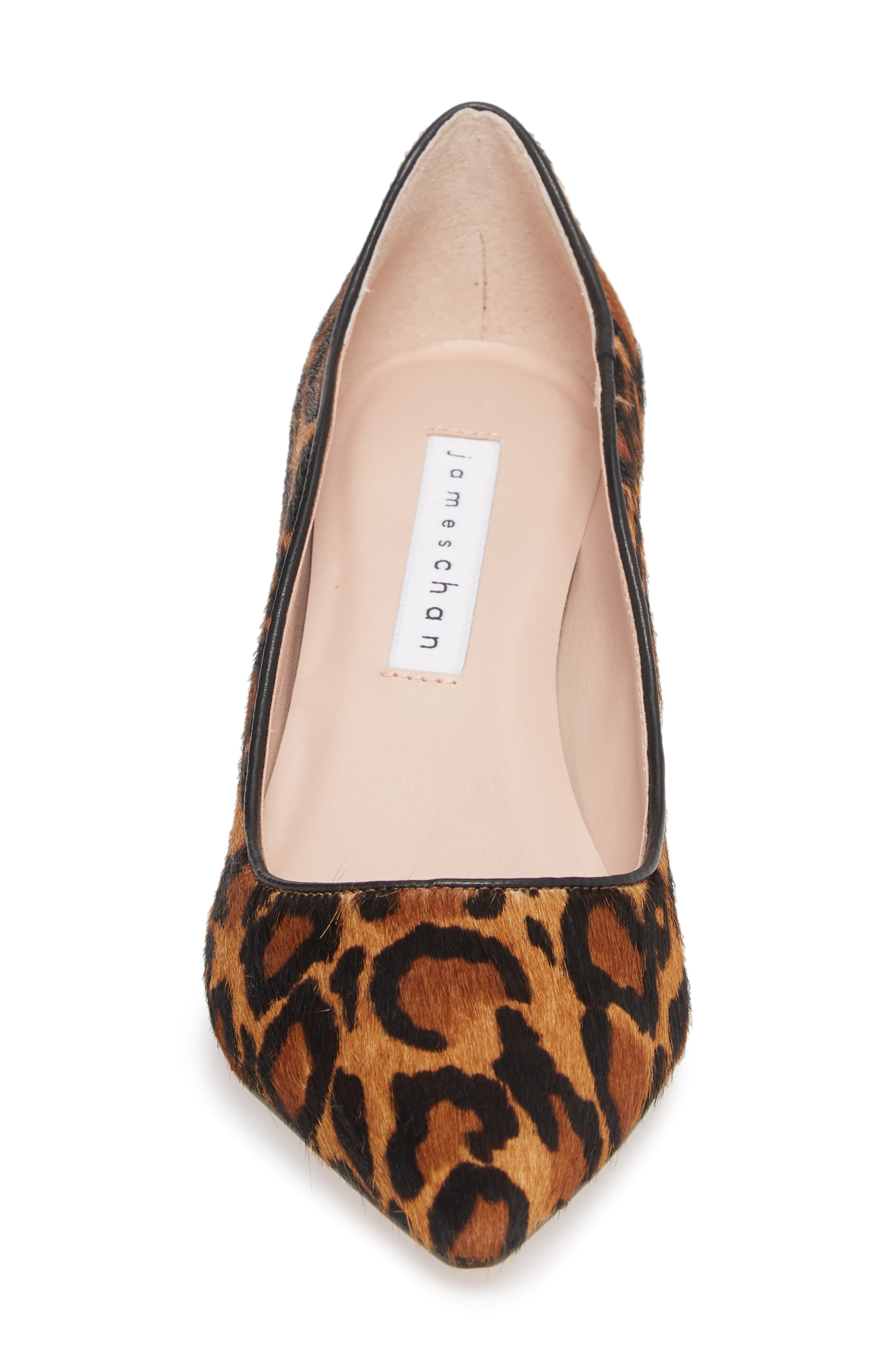 Anika 70 Pump,                             Alternate thumbnail 4, color,                             CAMEL MULTI HAIR CALF