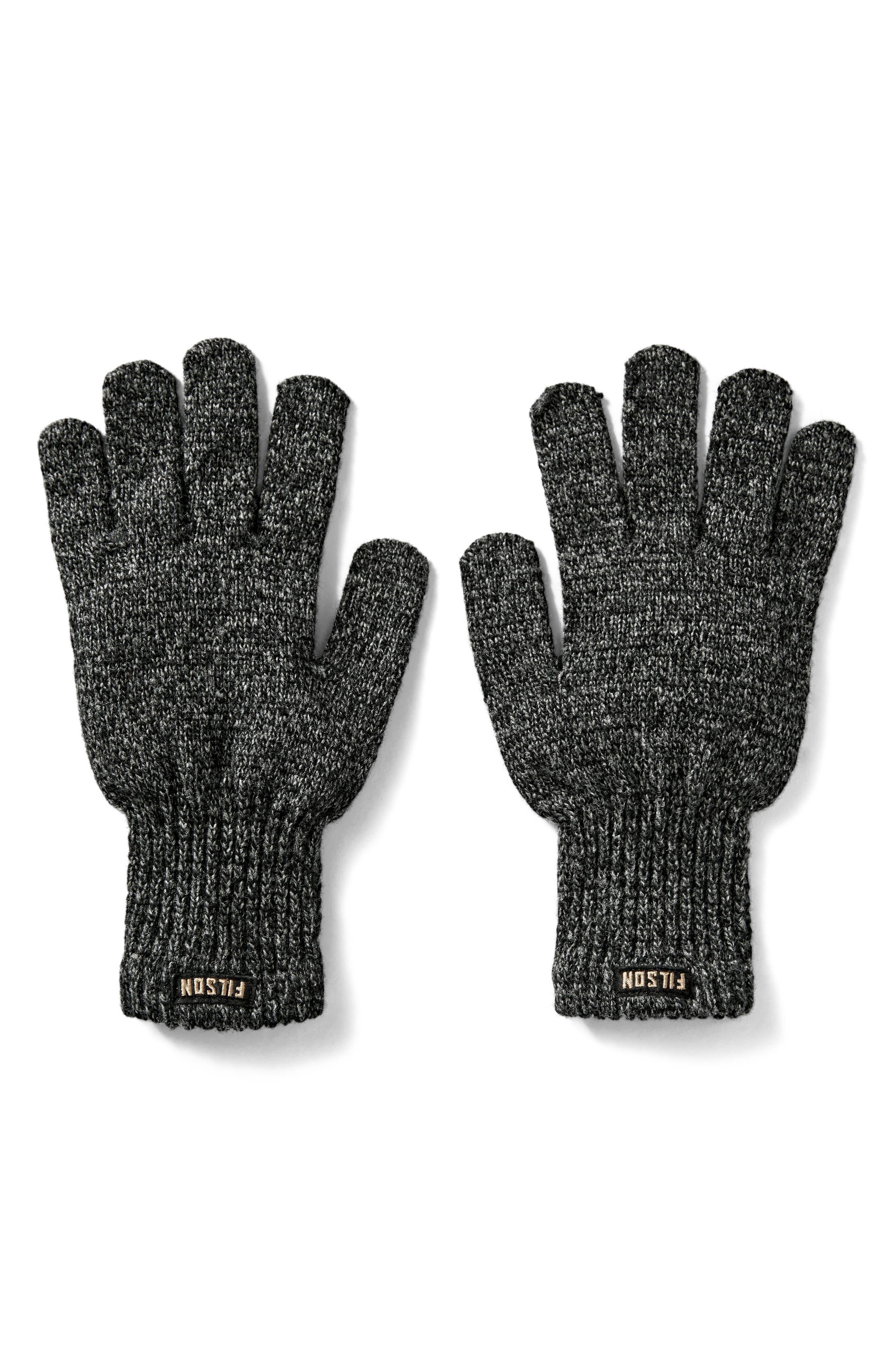 Wool Blend Knit Gloves,                         Main,                         color, 010