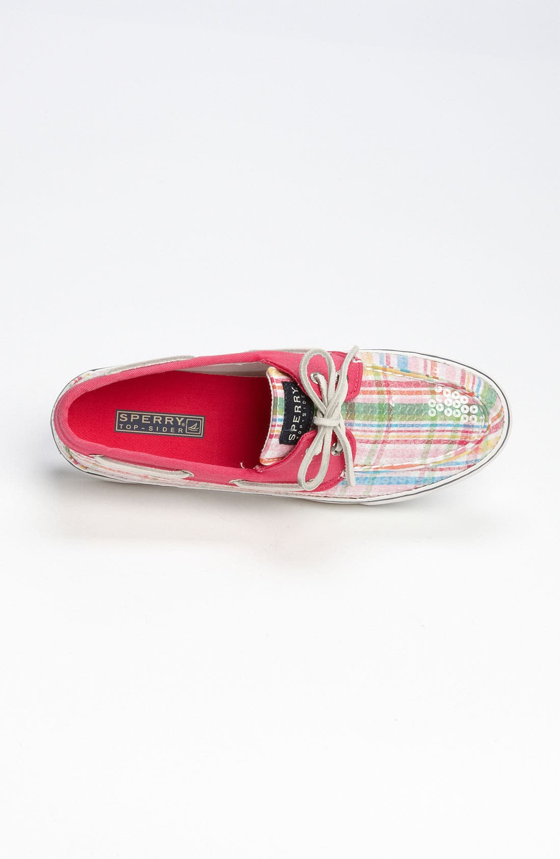Top-Sider<sup>®</sup> 'Bahama' Sequined Boat Shoe,                             Alternate thumbnail 161, color,