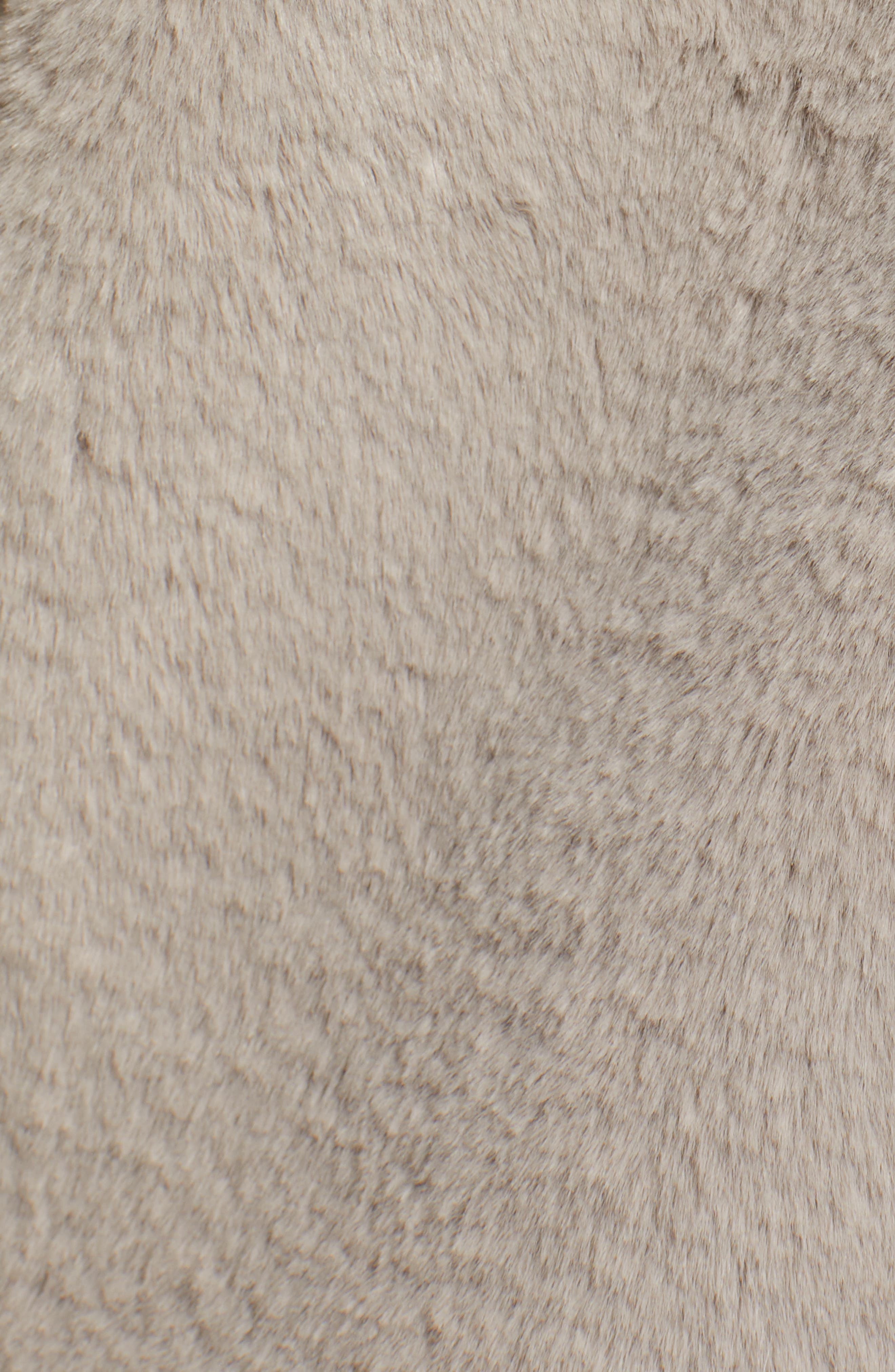 VIGOSS,                             Faux Fur O-Ring Jacket,                             Alternate thumbnail 7, color,                             020