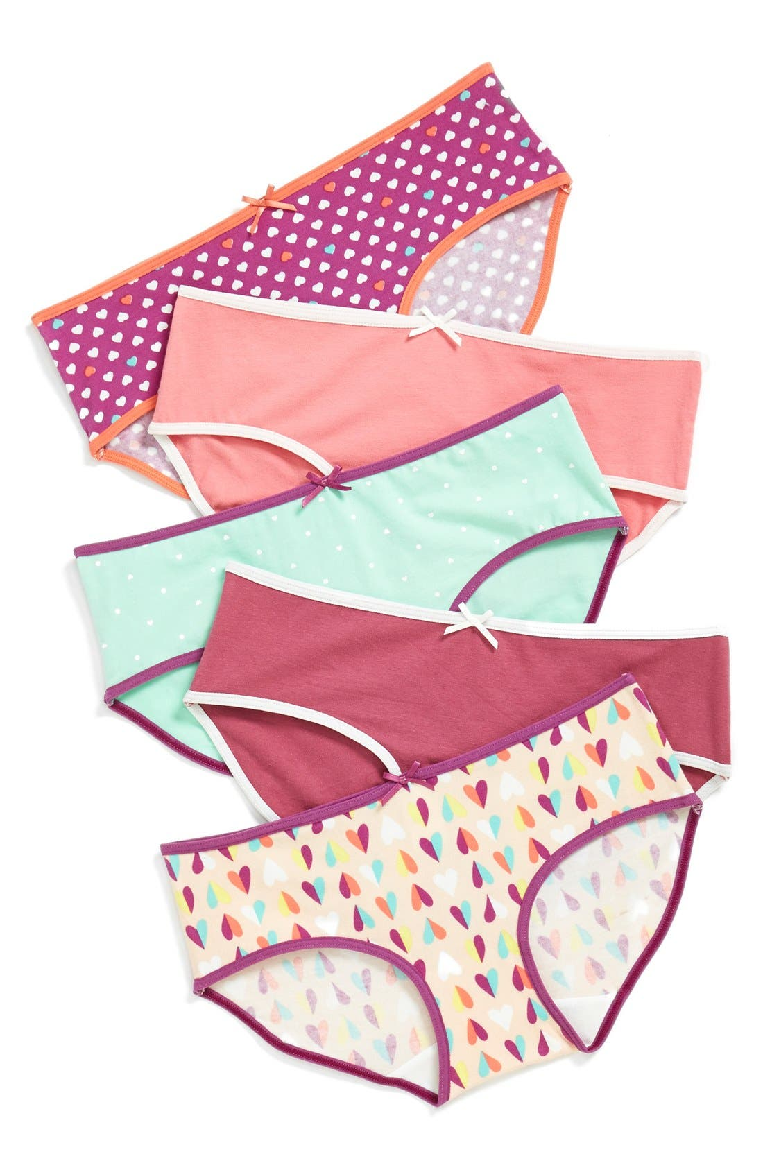 5-Pack Hipster Briefs,                             Main thumbnail 66, color,