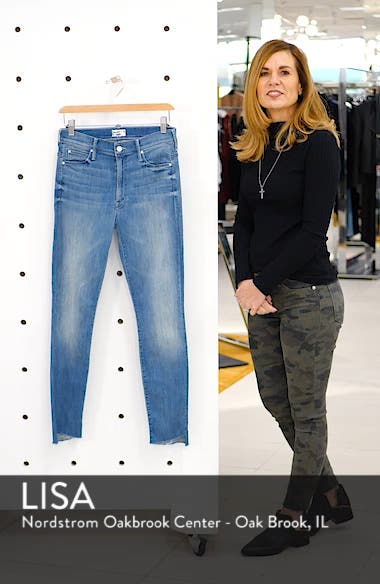 The Stunner High Rise Ankle Fray Jeans, sales video thumbnail