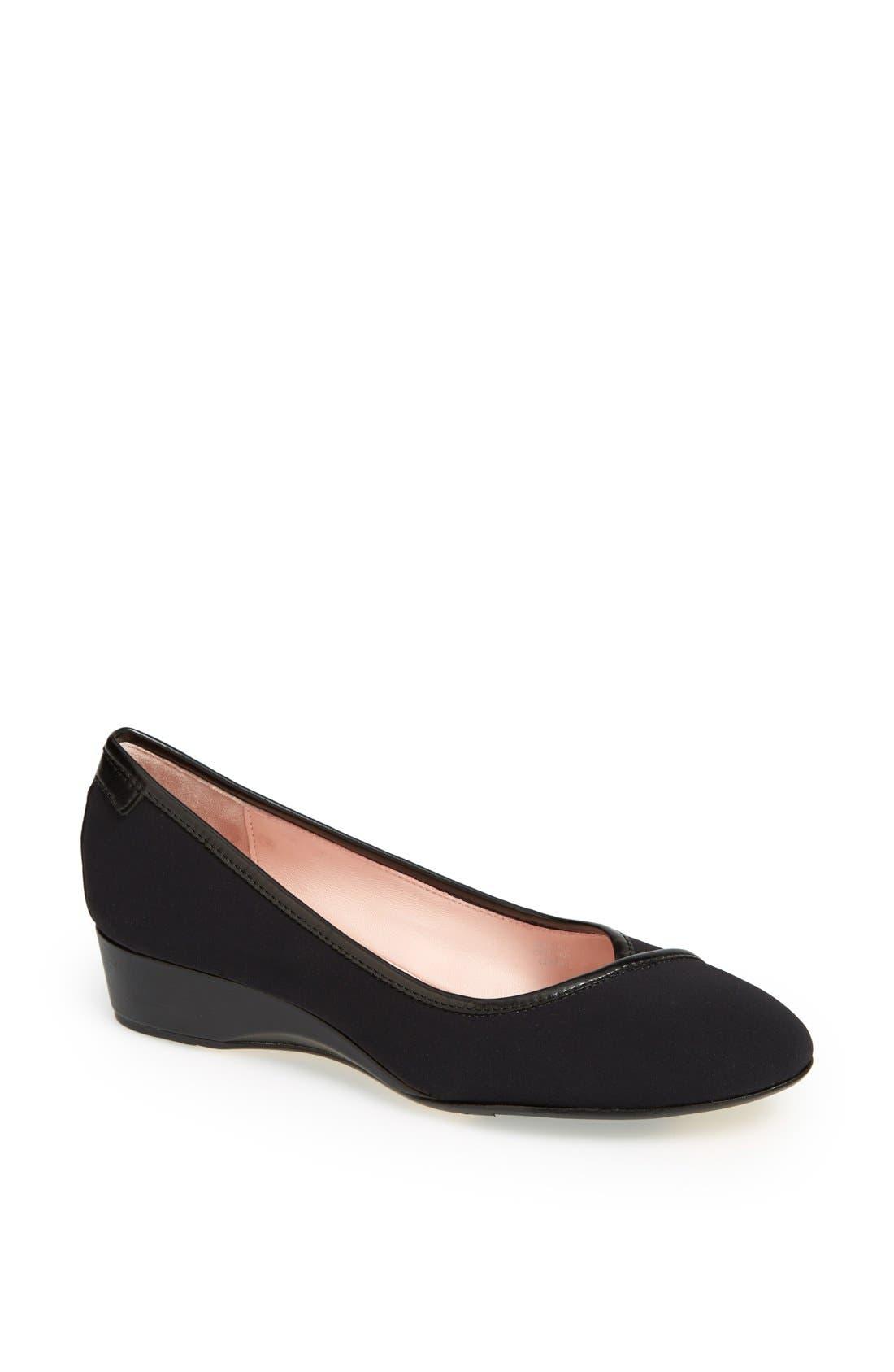 'Felicity' Wedge Slip-On, Main, color, 001